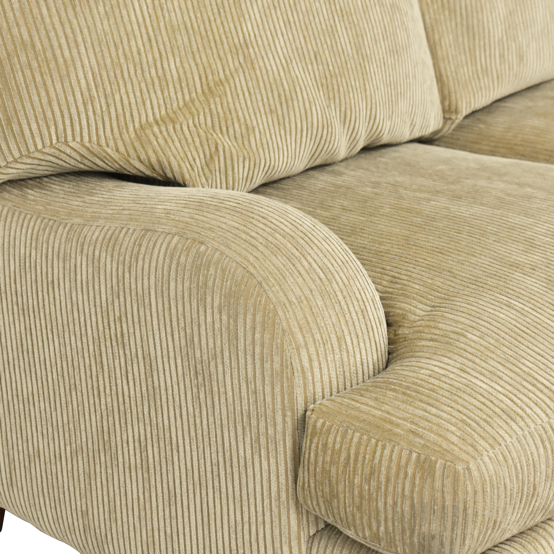 Bernhardt Bernhardt Brooke Three Cushion Sofa nj