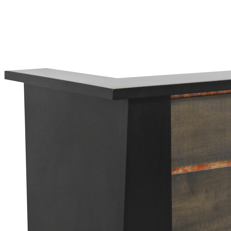 shop Urbangreen Furniture Custom Reception Desk Urbangreen Furniture Storage