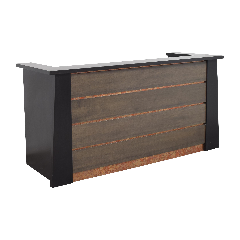 Urbangreen Furniture Urbangreen Furniture Custom Reception Desk ct
