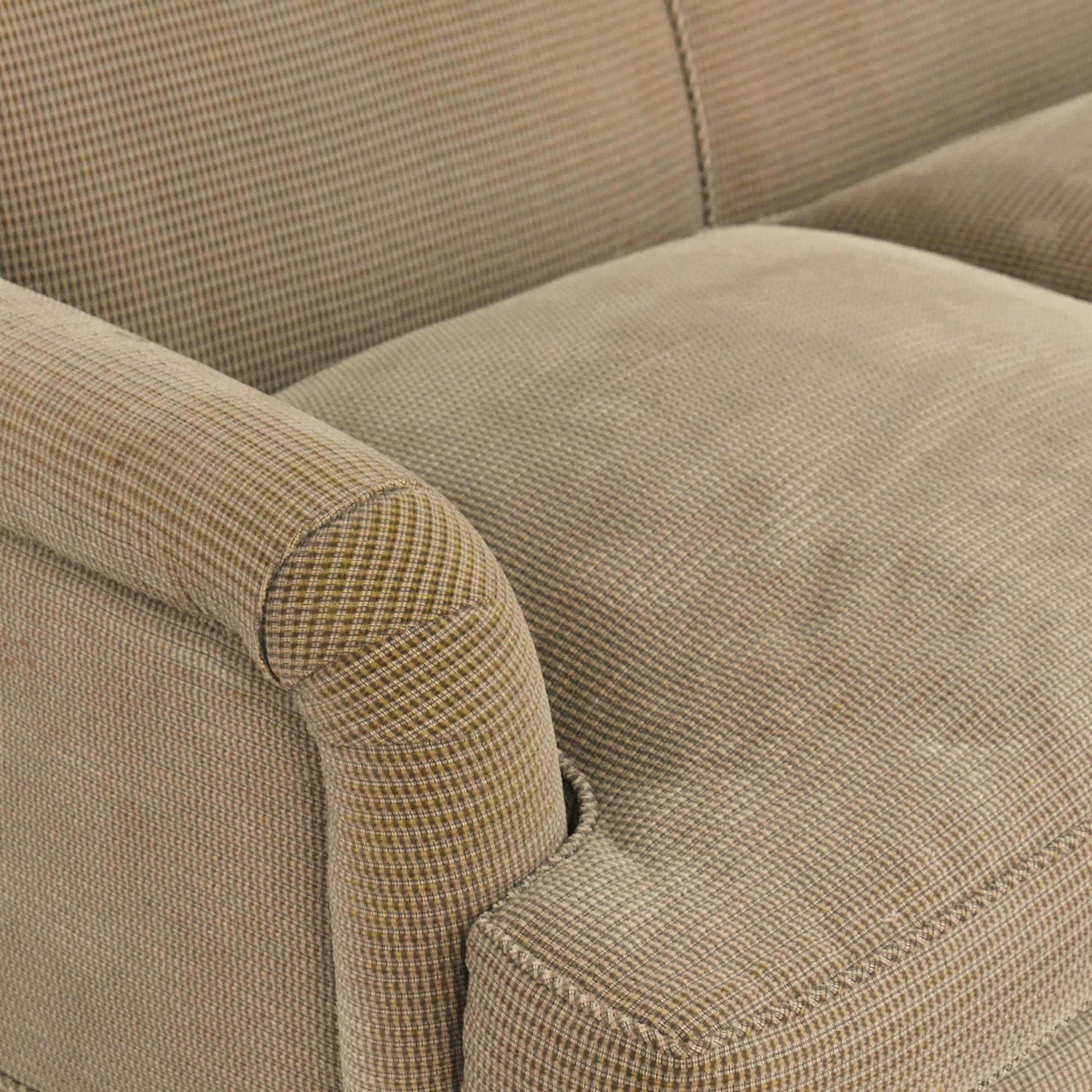Custom Two Cushion Sofa ct