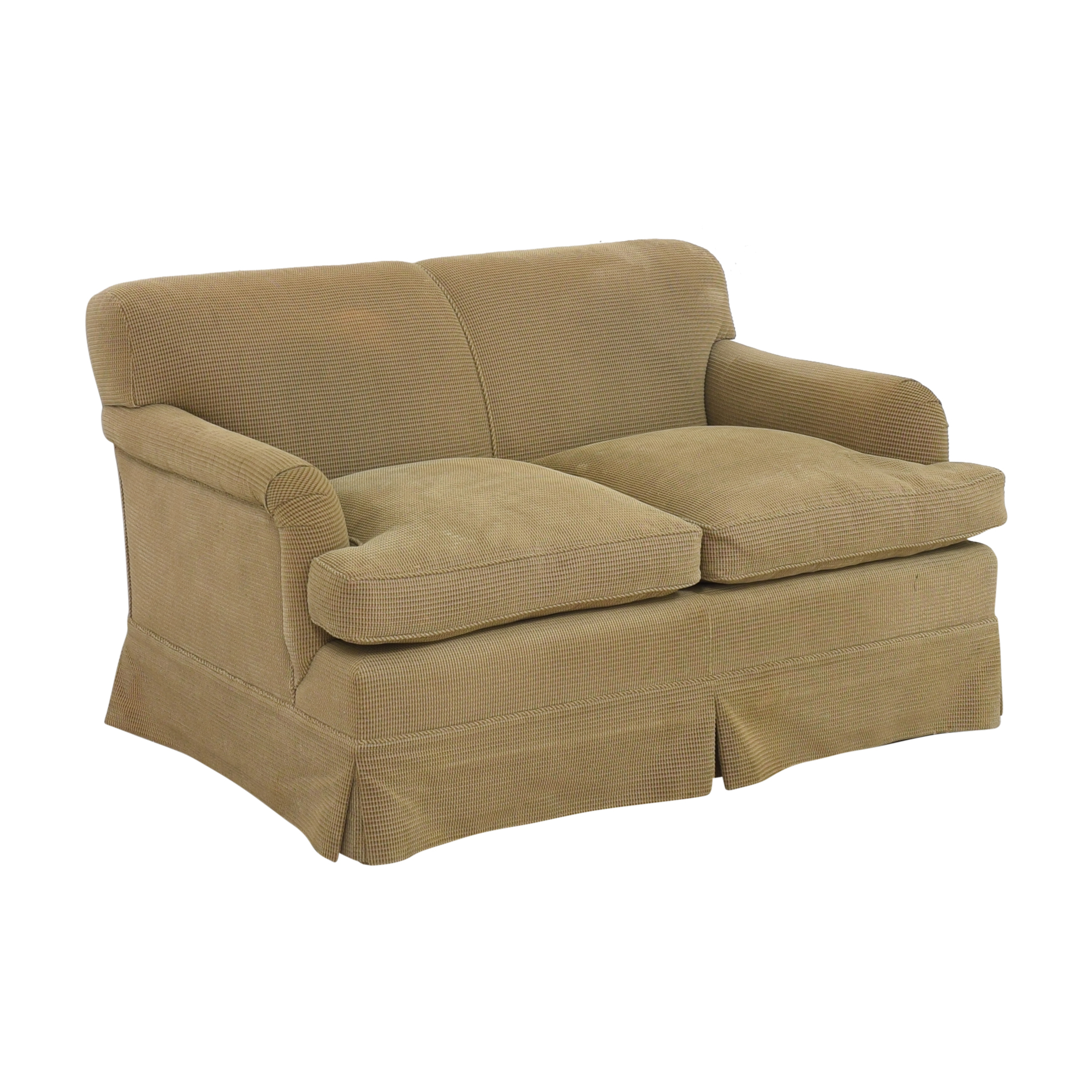 Custom Two Cushion Sofa for sale
