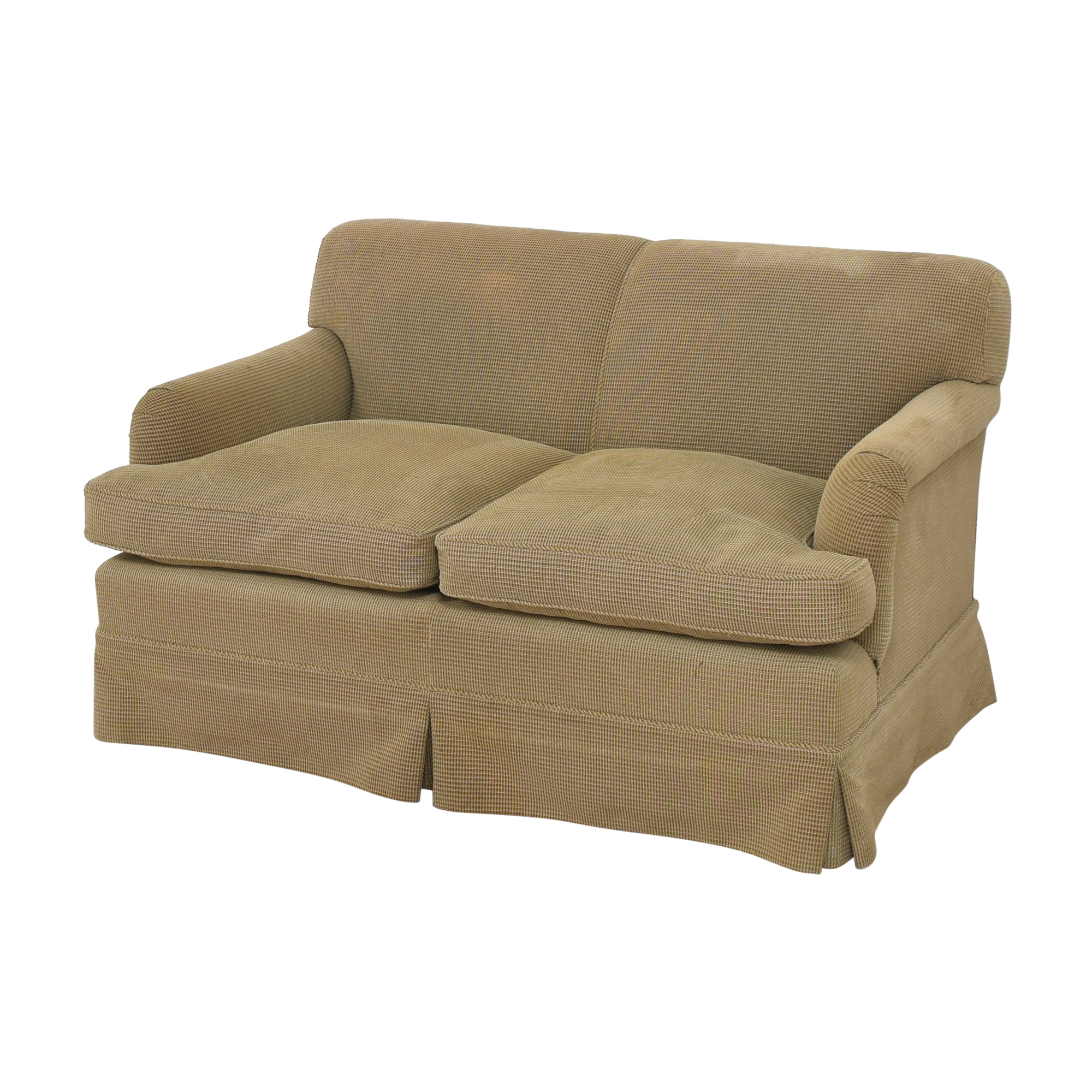 Custom Two Cushion Sofa price