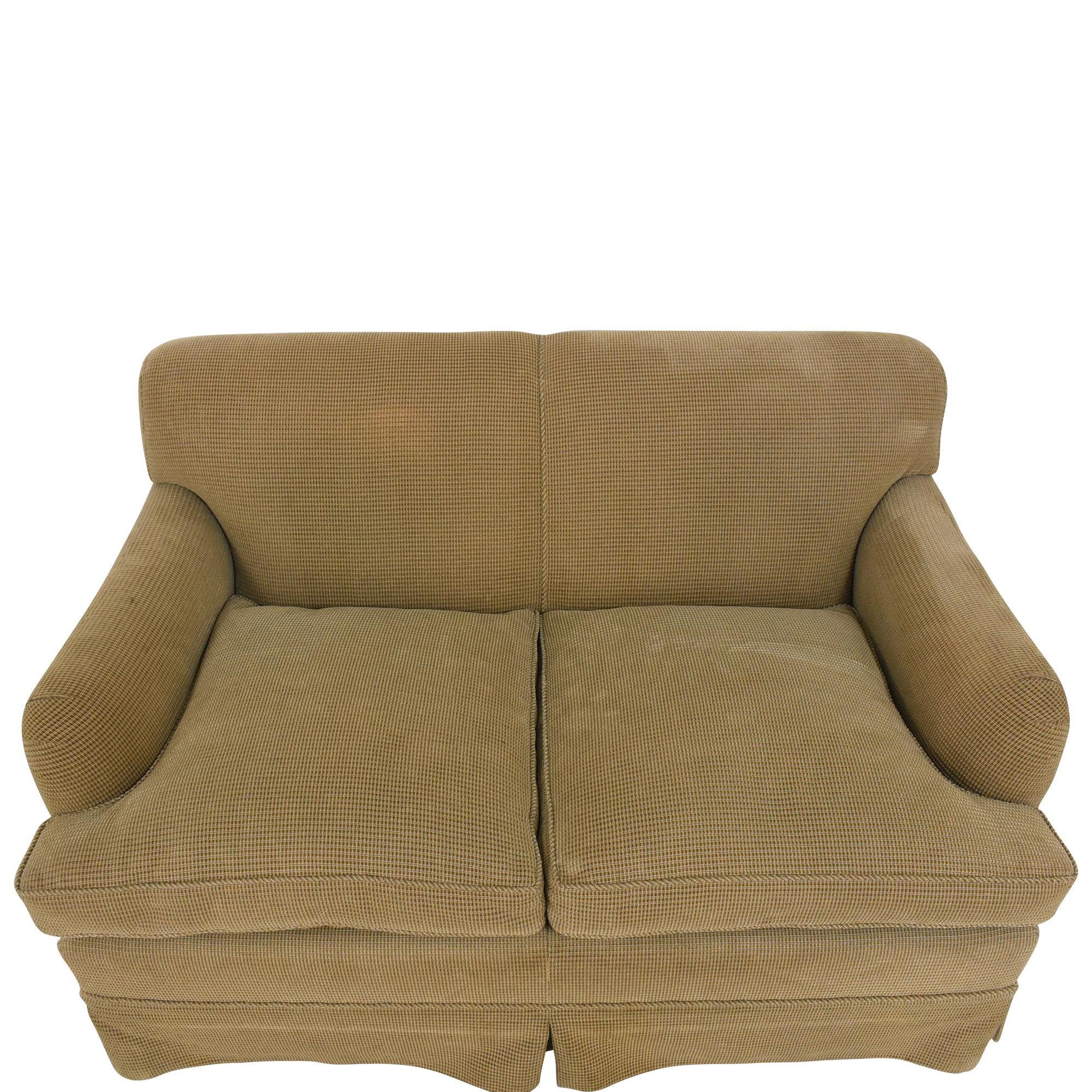 shop Custom Two Cushion Sofa  Classic Sofas