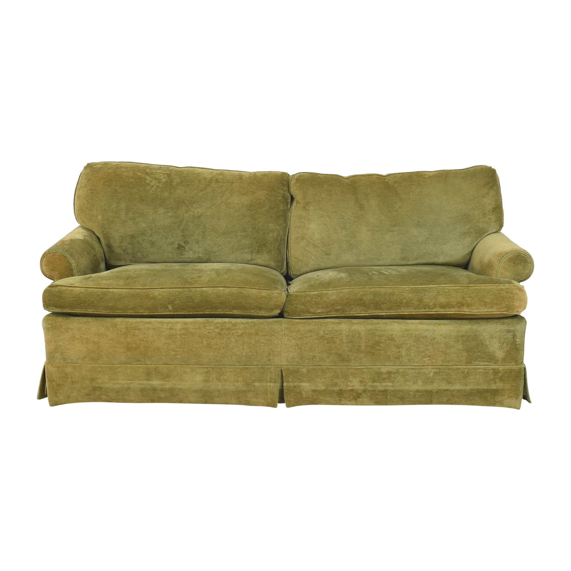 Hickory Springs Hickory Springs Two Cushion Sleeper Sofa