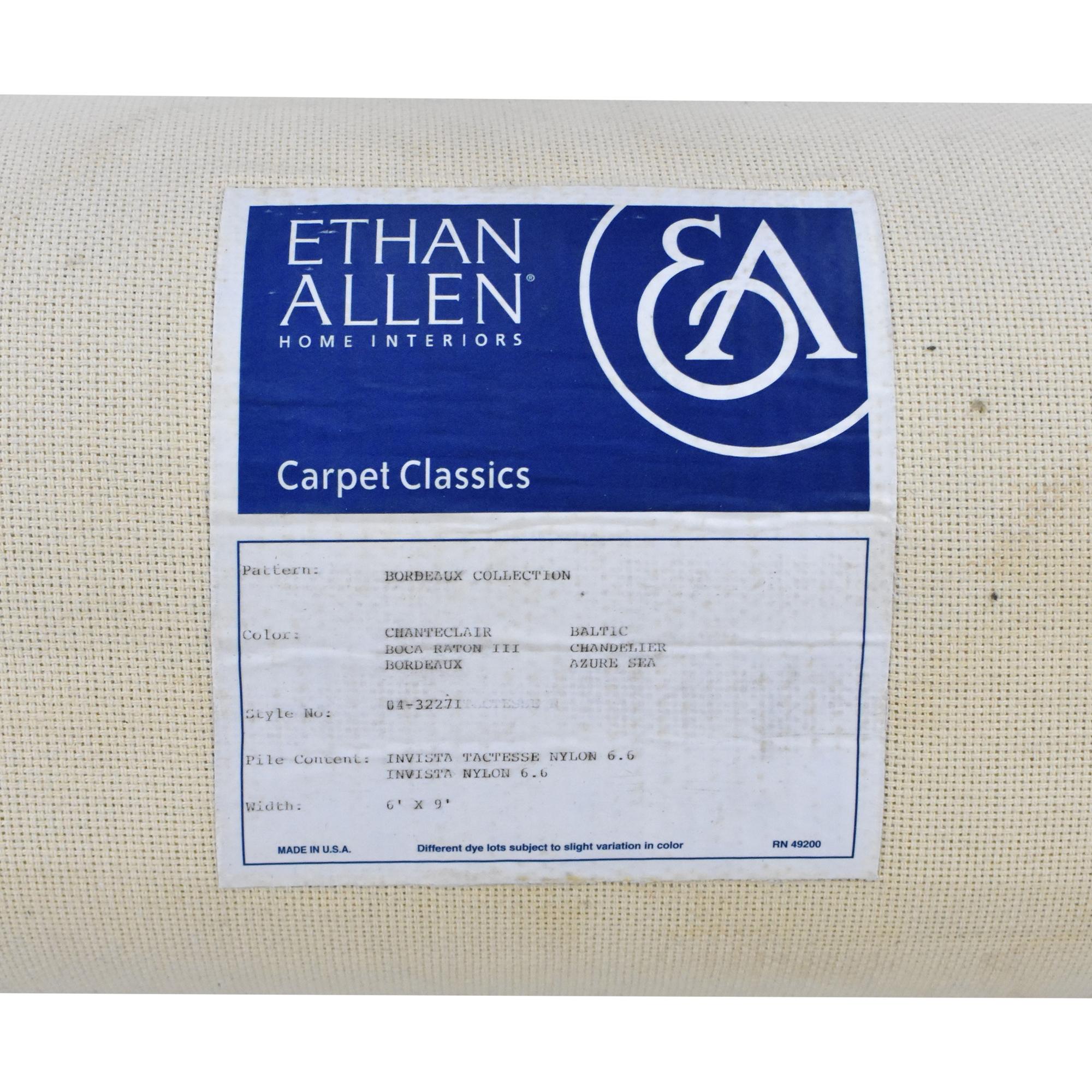 Ethan Allen Ethan Allen Bordeaux Collection Area Rug blue & white