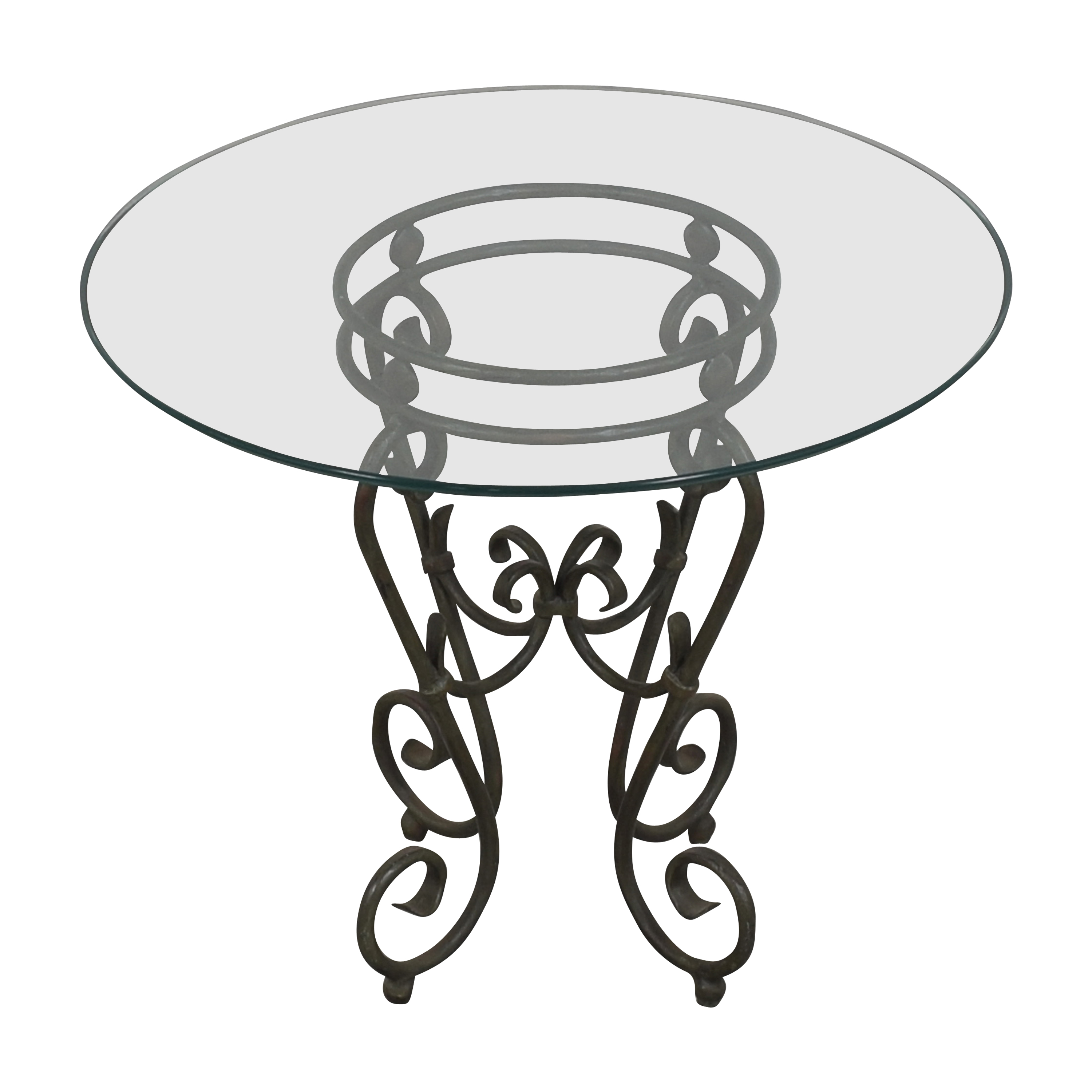 shop Round Top Side Table  Tables