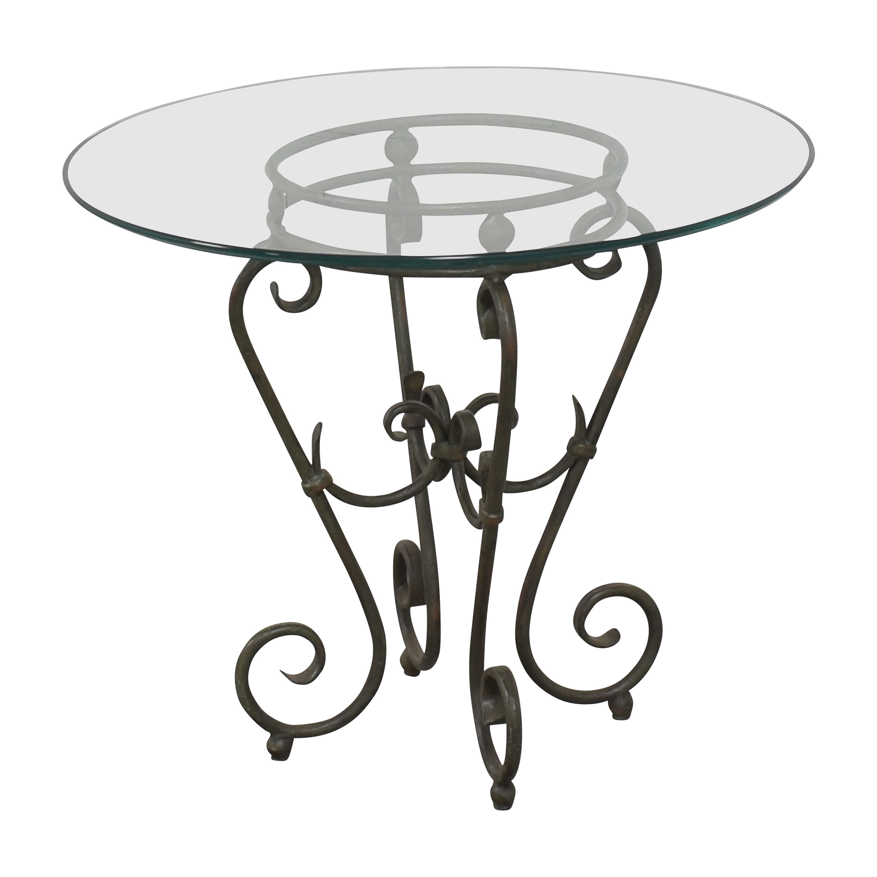 buy Round Top Side Table  End Tables
