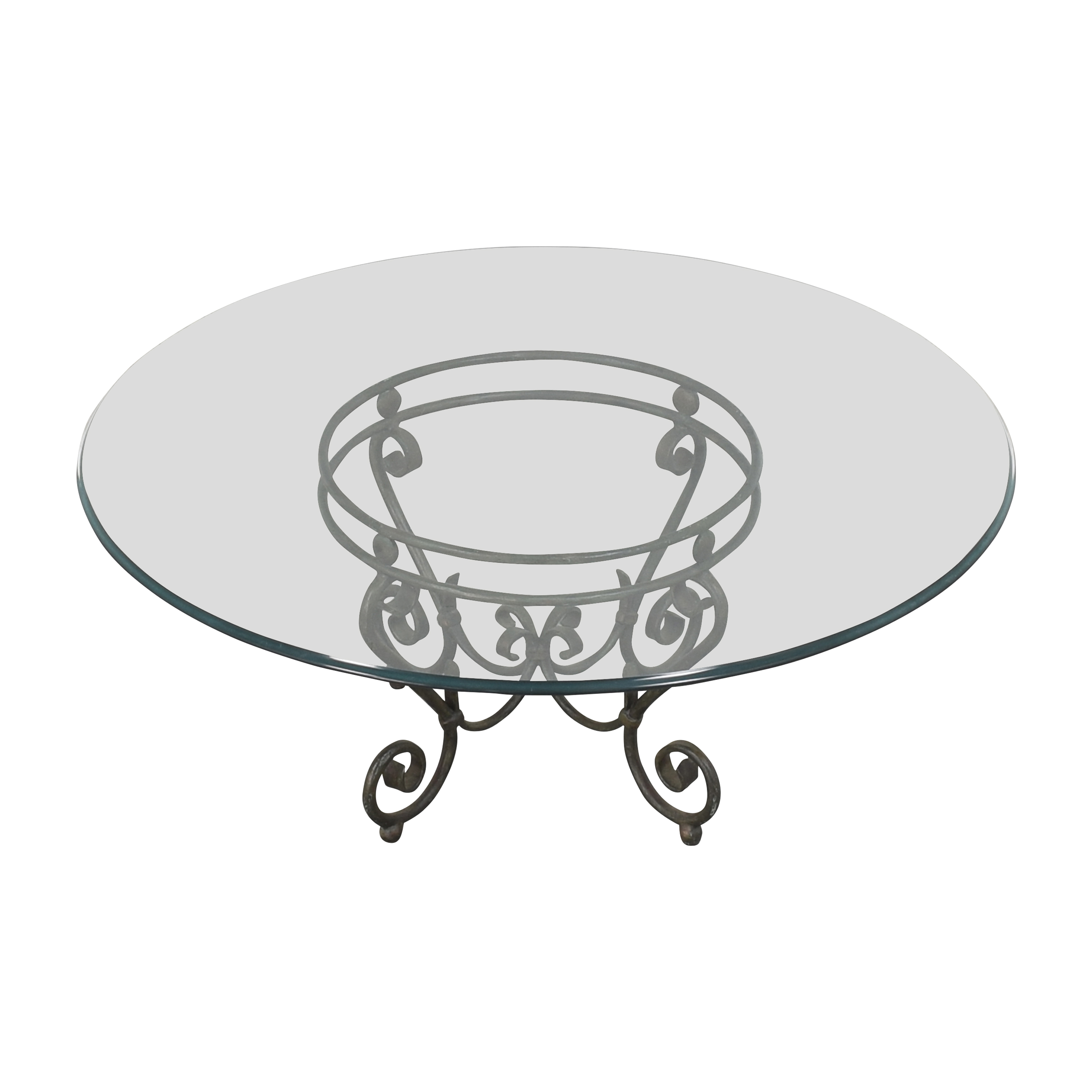 Transparent Coffee Table with Decorative Base coupon