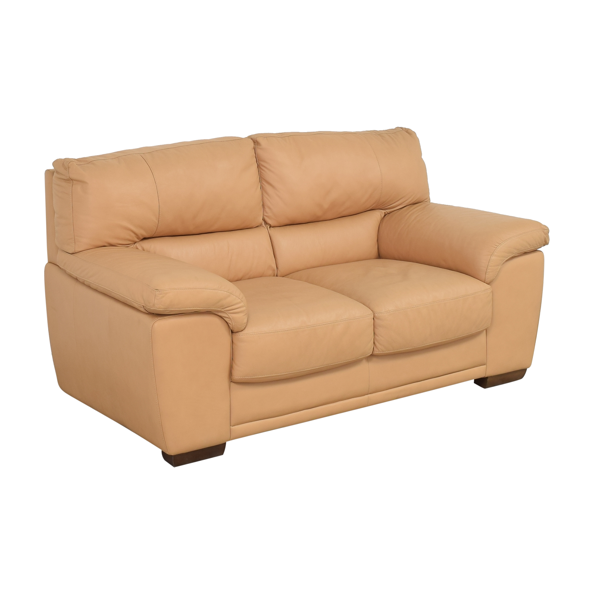 Nicoletti Home Nicoletti Two Cushion Loveseat dimensions