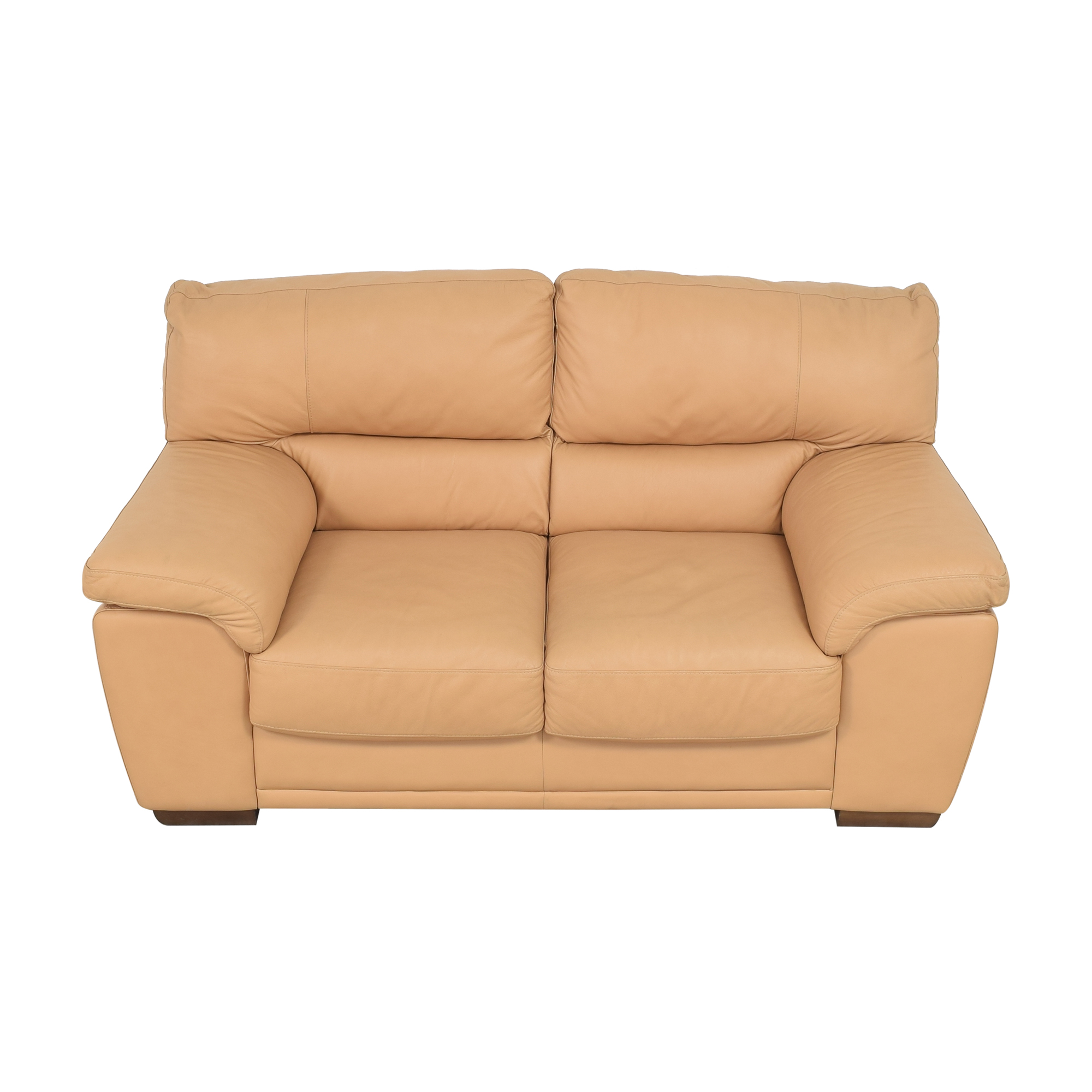 buy Nicoletti Two Cushion Loveseat Nicoletti Home Sofas