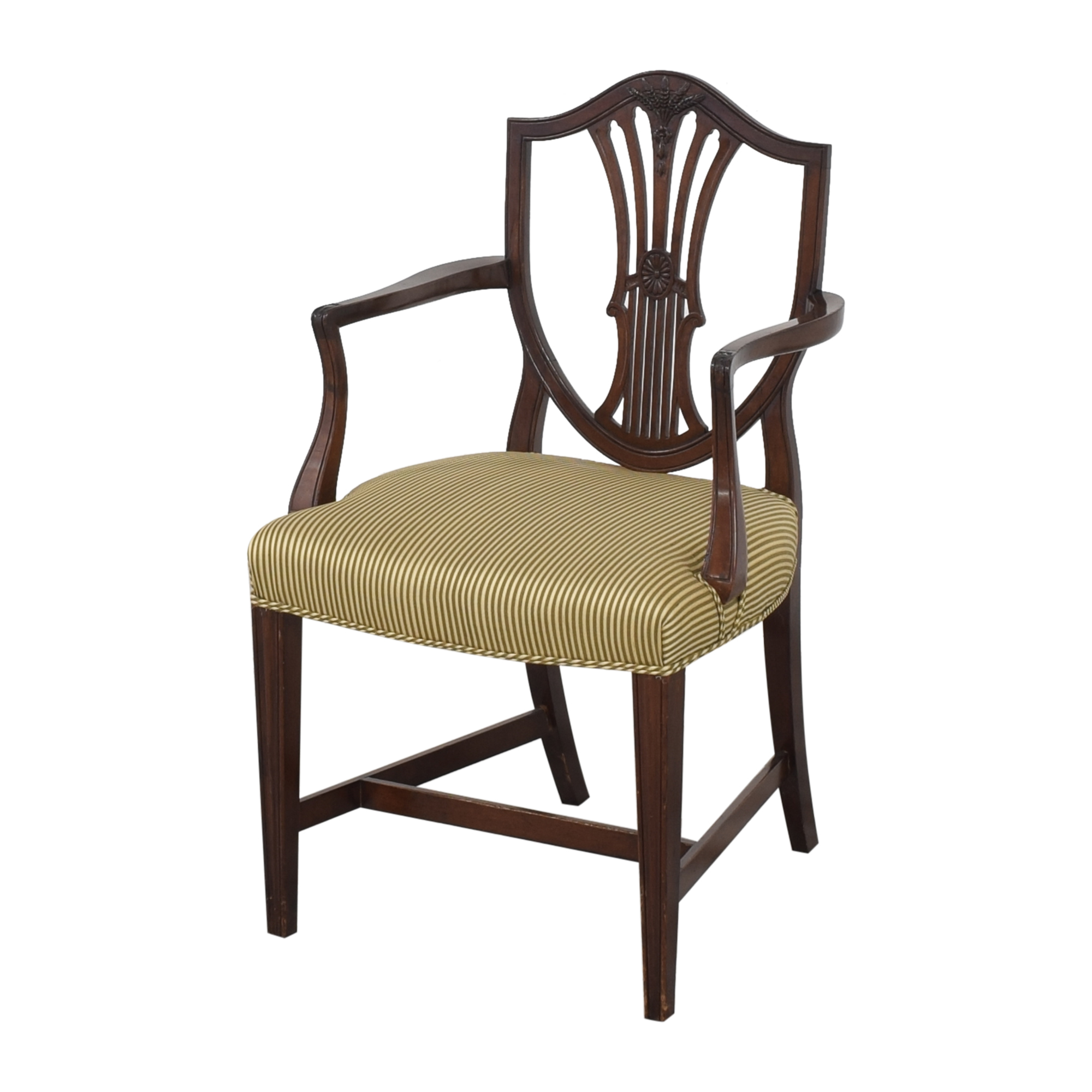 Shield Back Dining Arm Chairs discount
