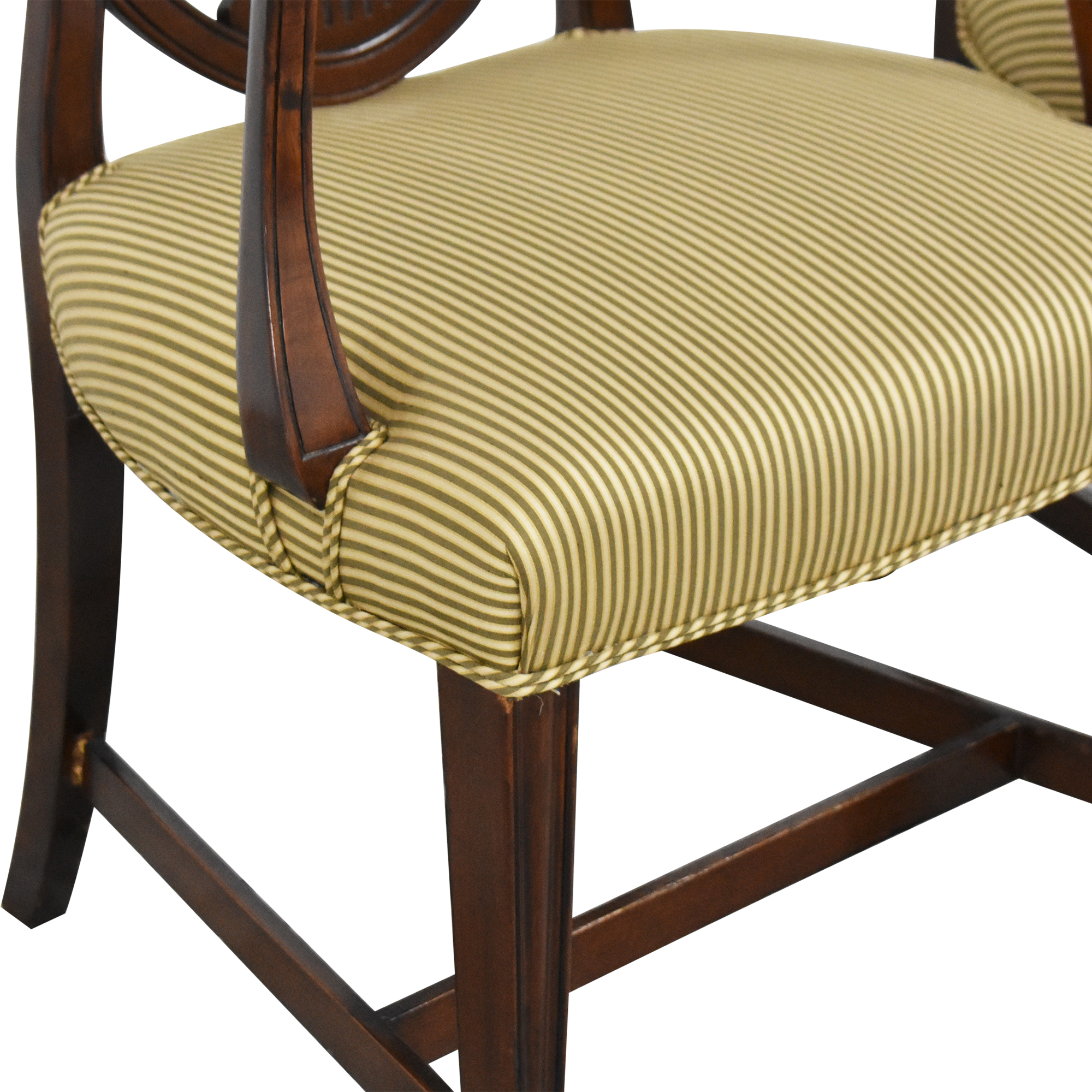 Shield Back Dining Arm Chairs on sale