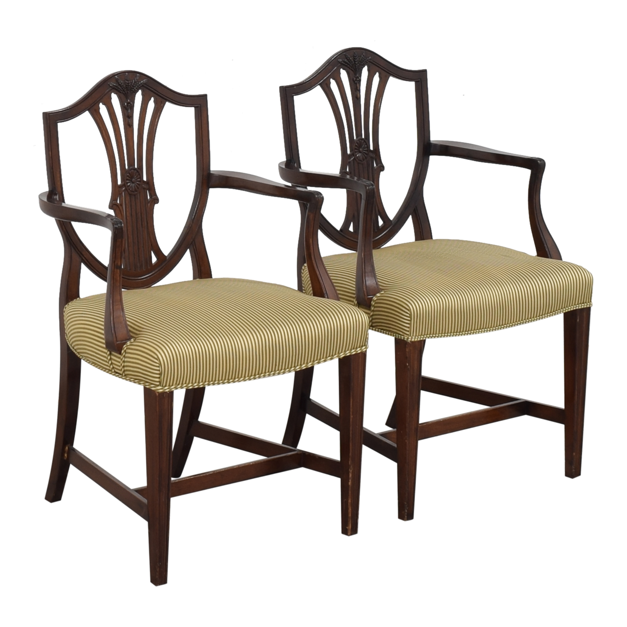 shop Shield Back Dining Arm Chairs  Chairs