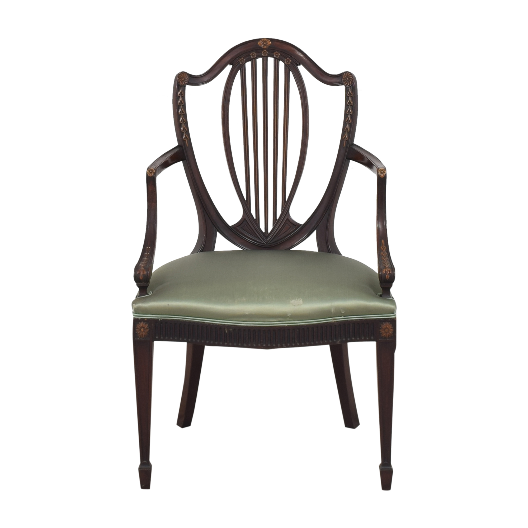 Baker Furniture Baker Furniture Vintage Accent Chair dimensions
