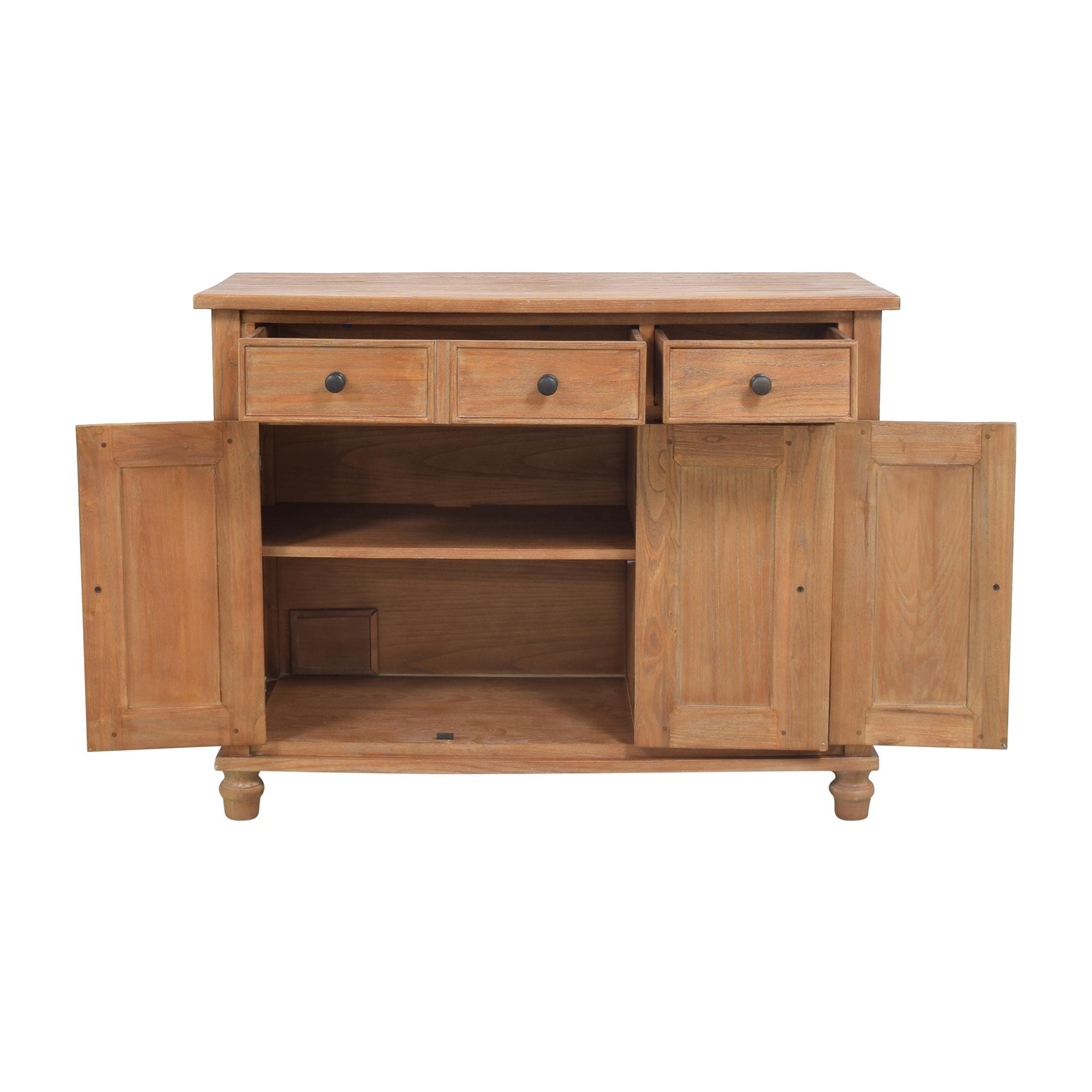 Crate & Barrel Crate & Barrel Kipling Buffet Cabinet pa