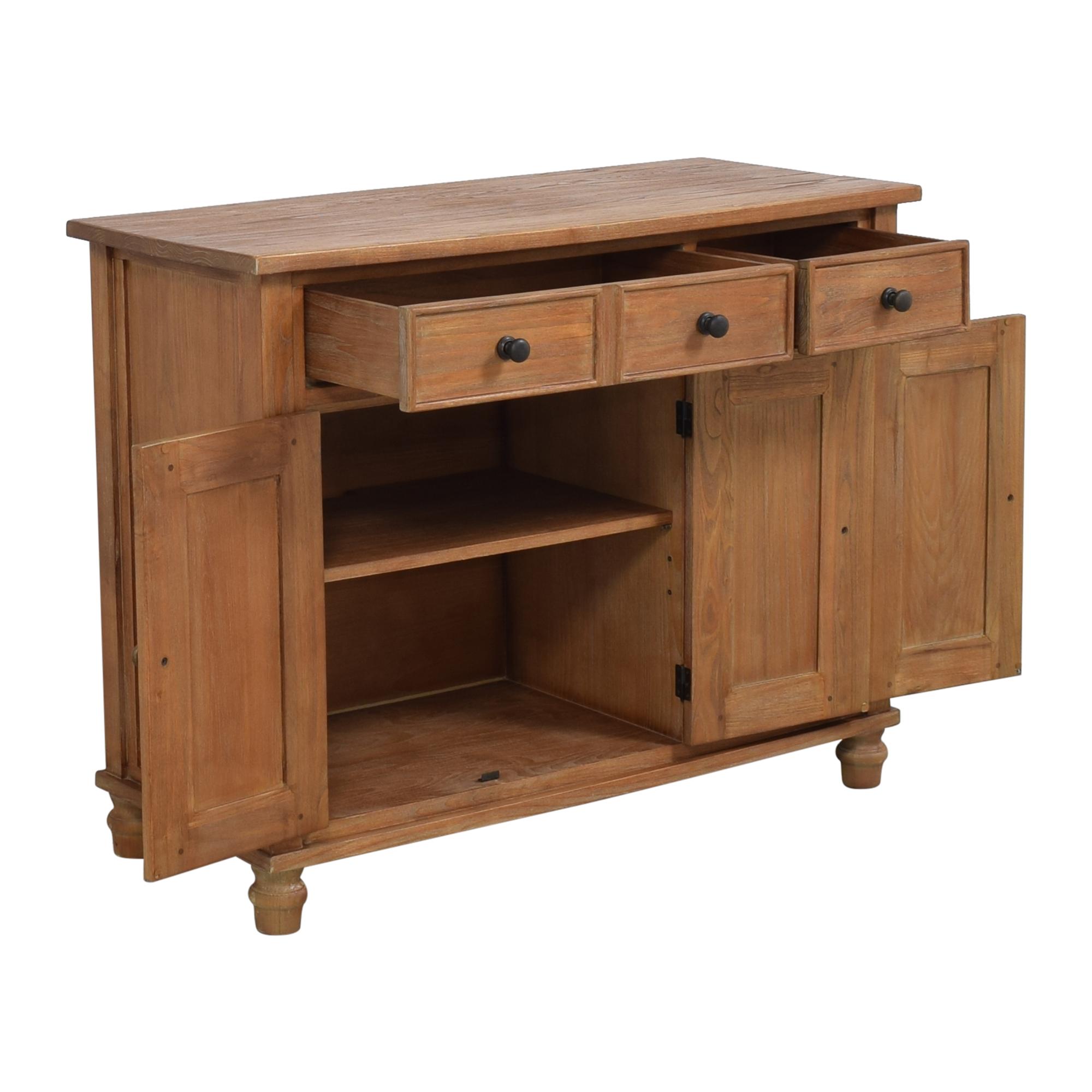 buy Crate & Barrel Kipling Buffet Cabinet Crate & Barrel Cabinets & Sideboards