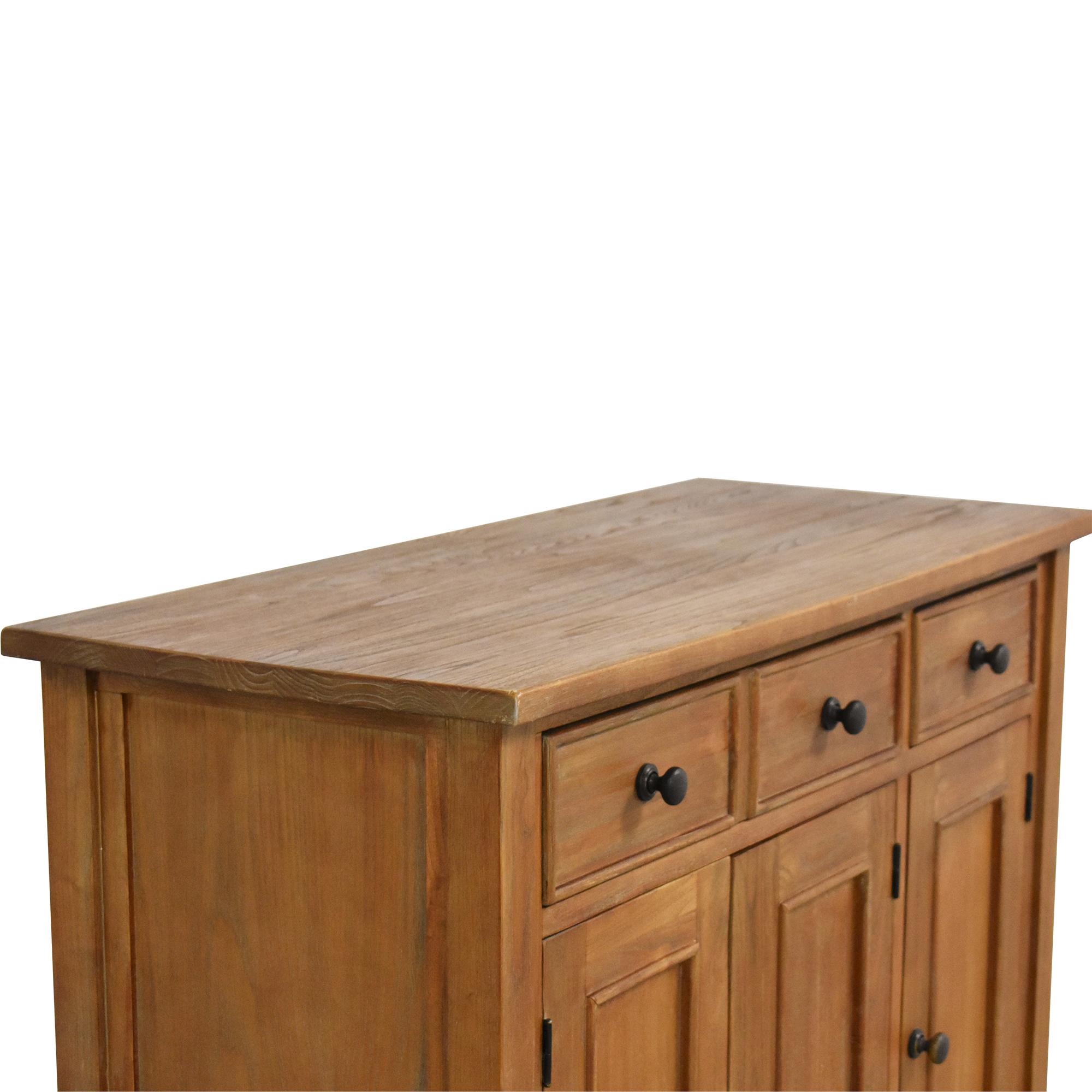 Crate & Barrel Crate & Barrel Kipling Buffet Cabinet ma