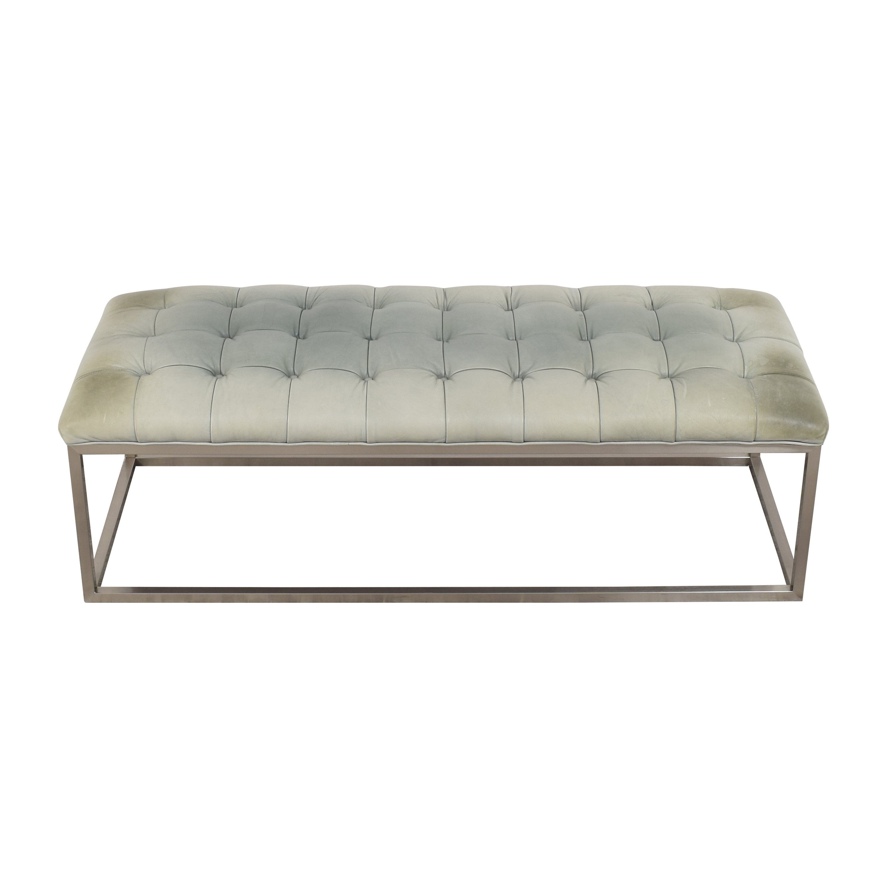 buy Mitchell Gold + Bob Williams Hines Cocktail Ottoman Mitchell Gold + Bob Williams Ottomans
