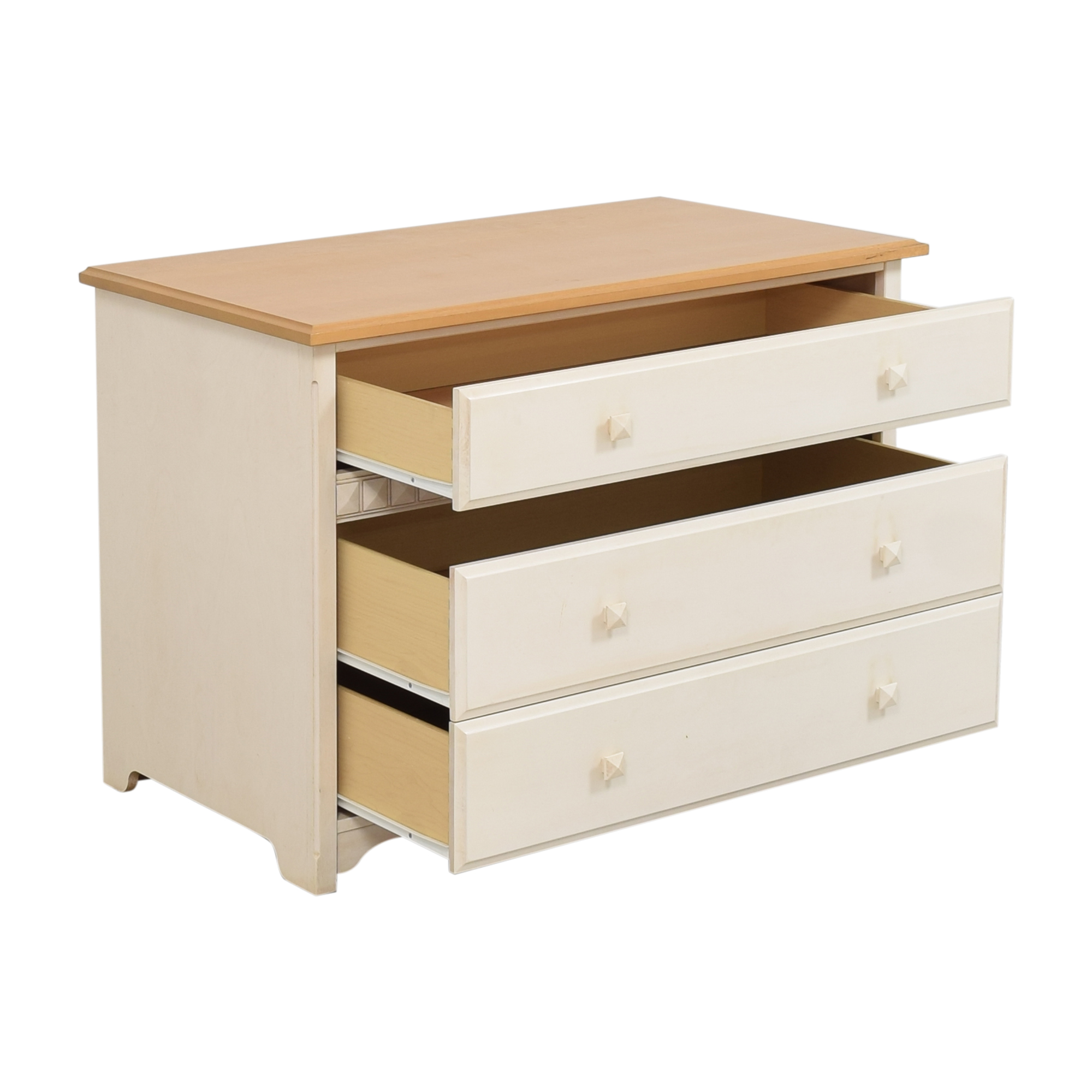 buy Morigeau-Lepine Three Drawer Dresser Morigeau-Lepine Dressers