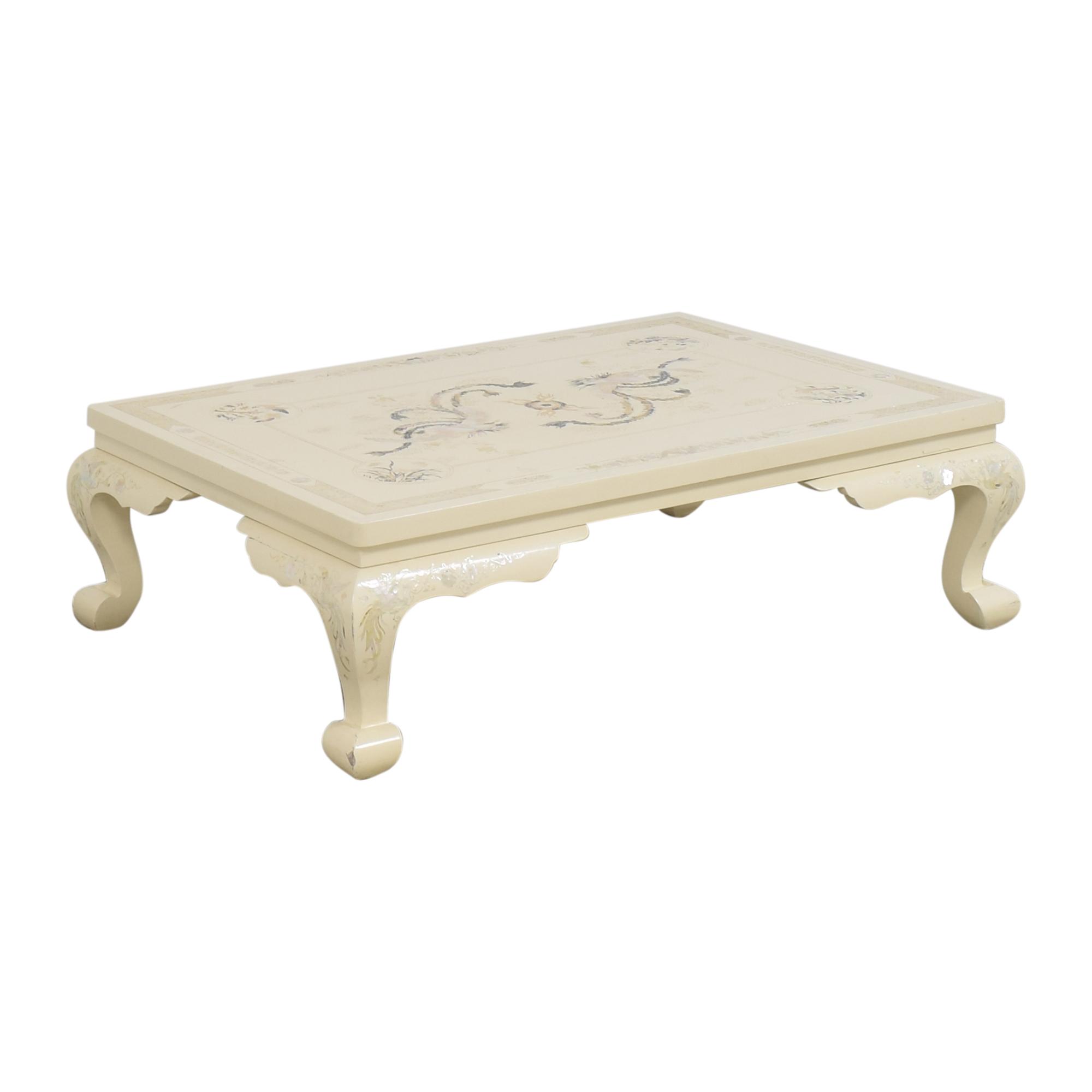 Inlay Coffee Table used