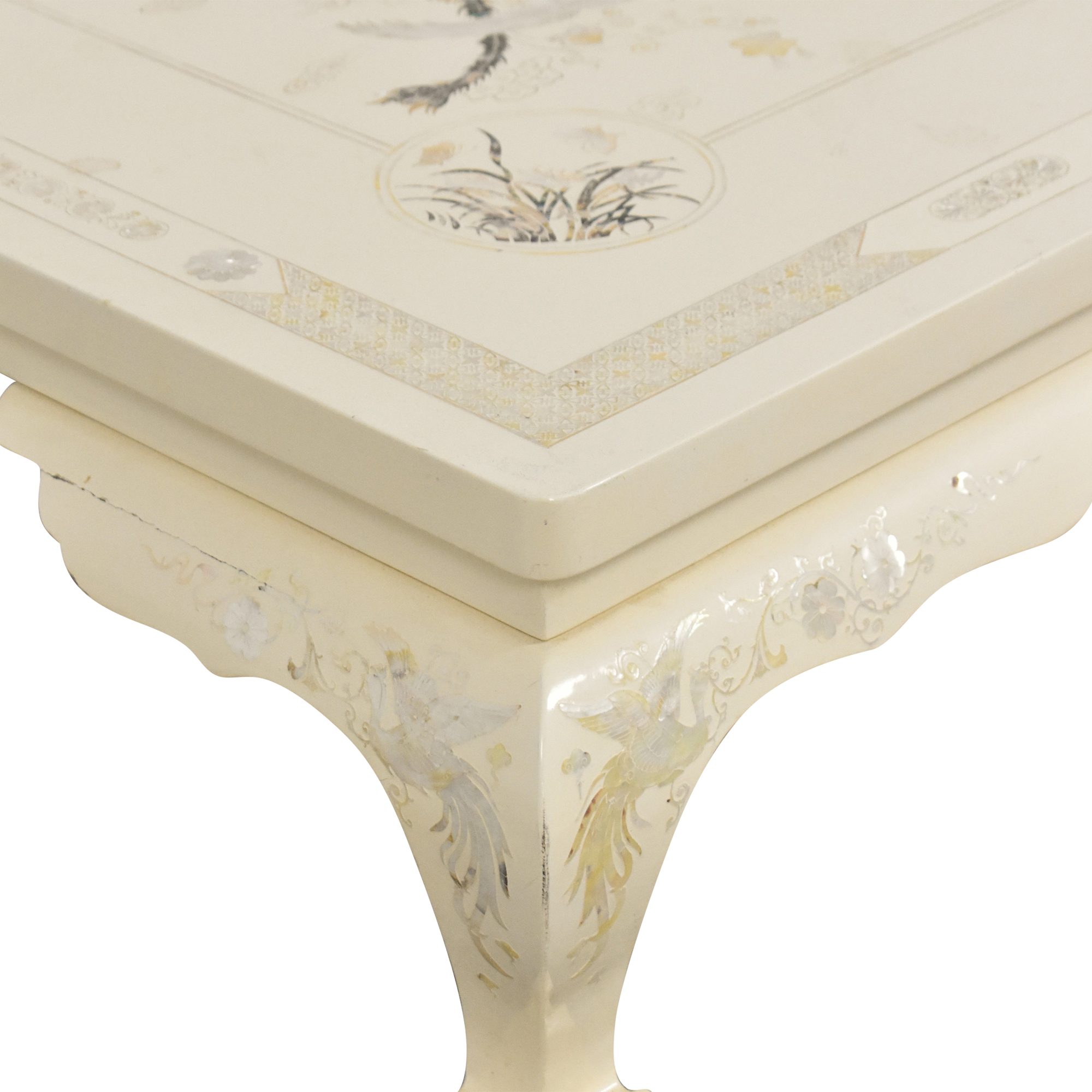 Inlay Coffee Table on sale
