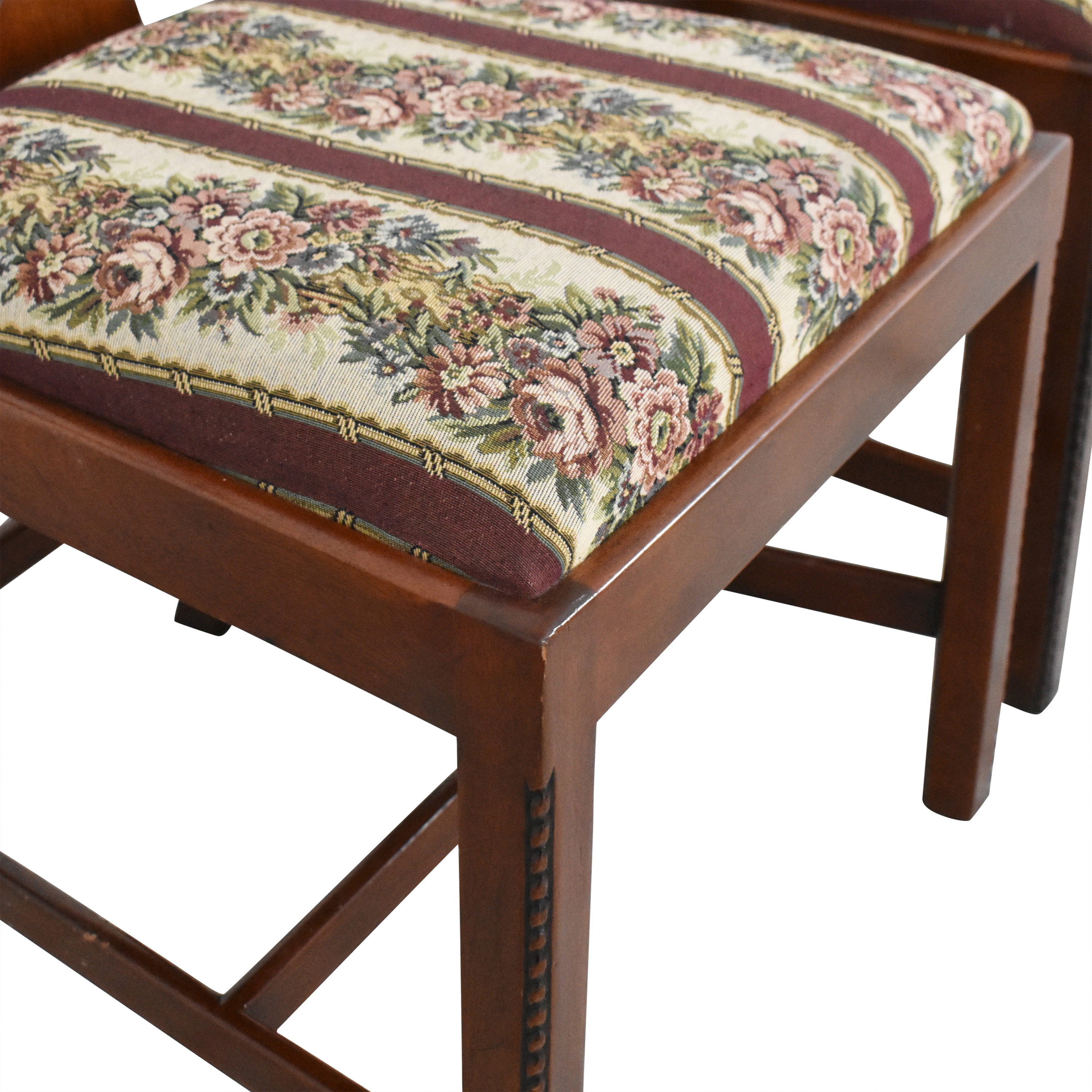 Maitland-Smith Maitland-Smith Chippendale Upholstered Dining Chairs ct