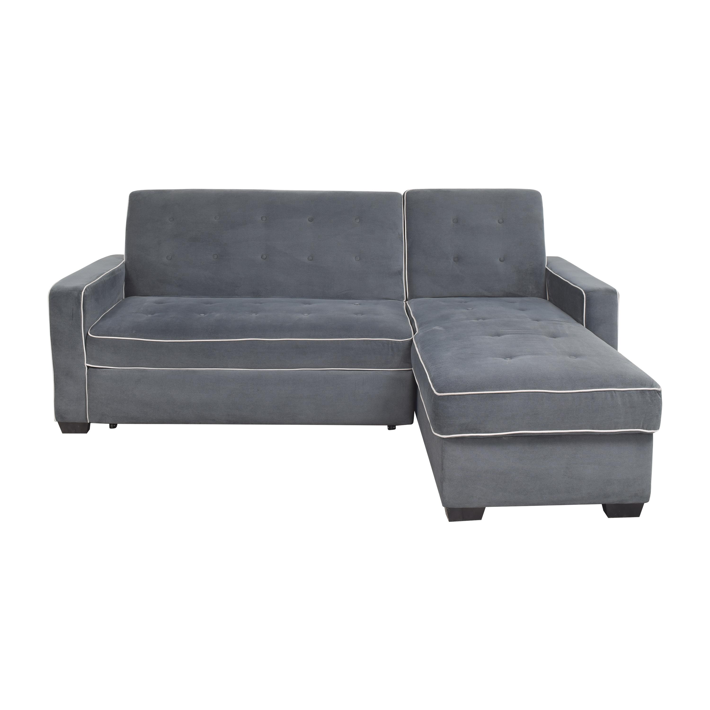 Costco Costco Kayden Chaise Sectional Sleeper Sofa nyc