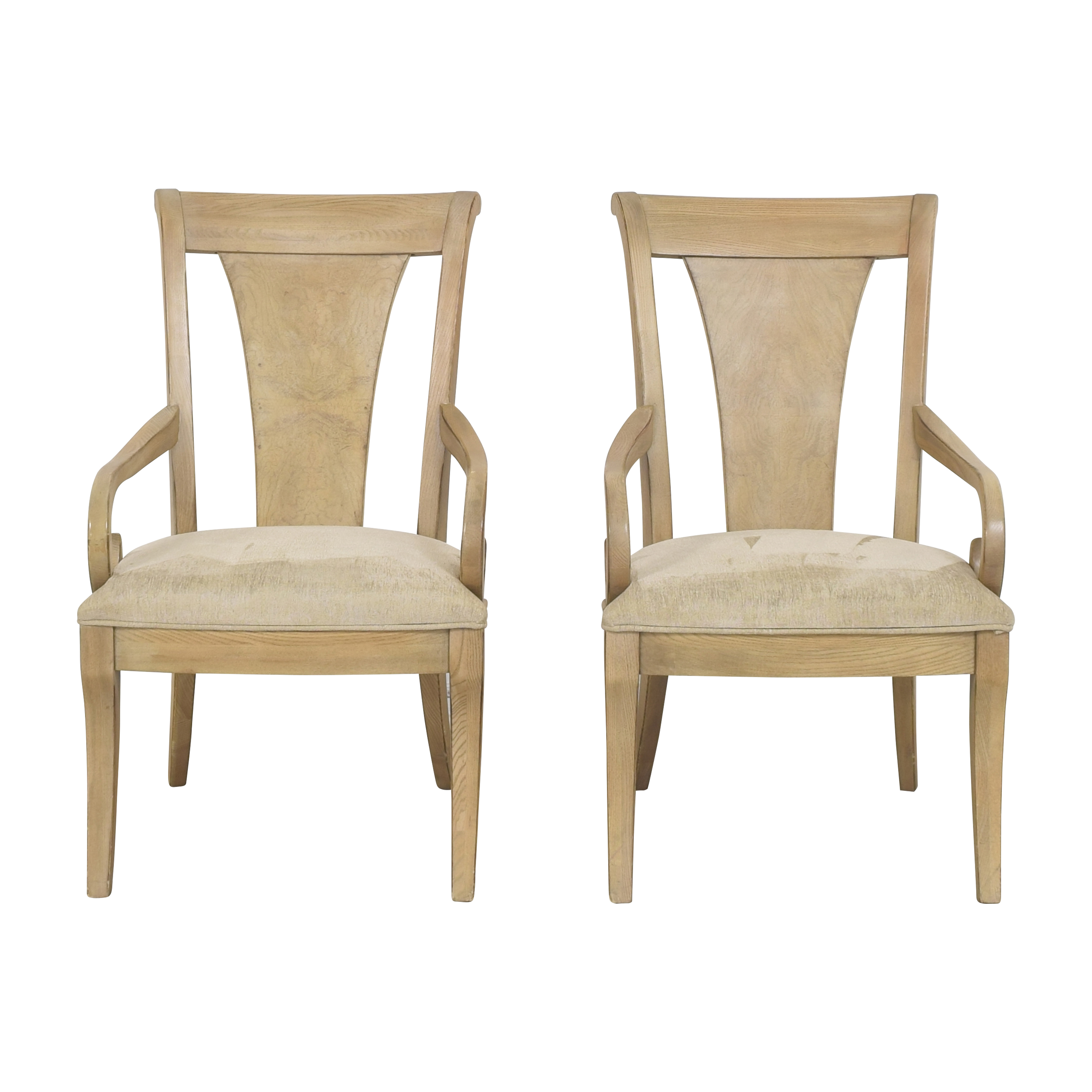 Drexel Heritage Drexel Heritage Dining Arm Chairs pa