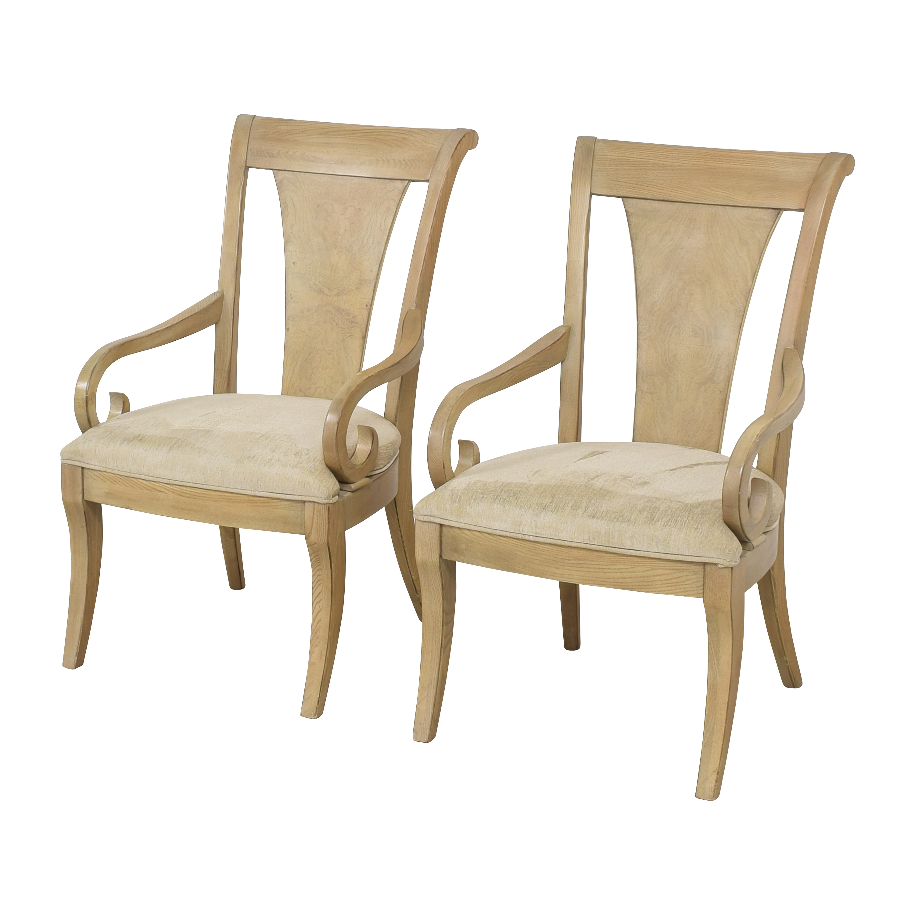 Drexel Heritage Drexel Heritage Dining Arm Chairs ct