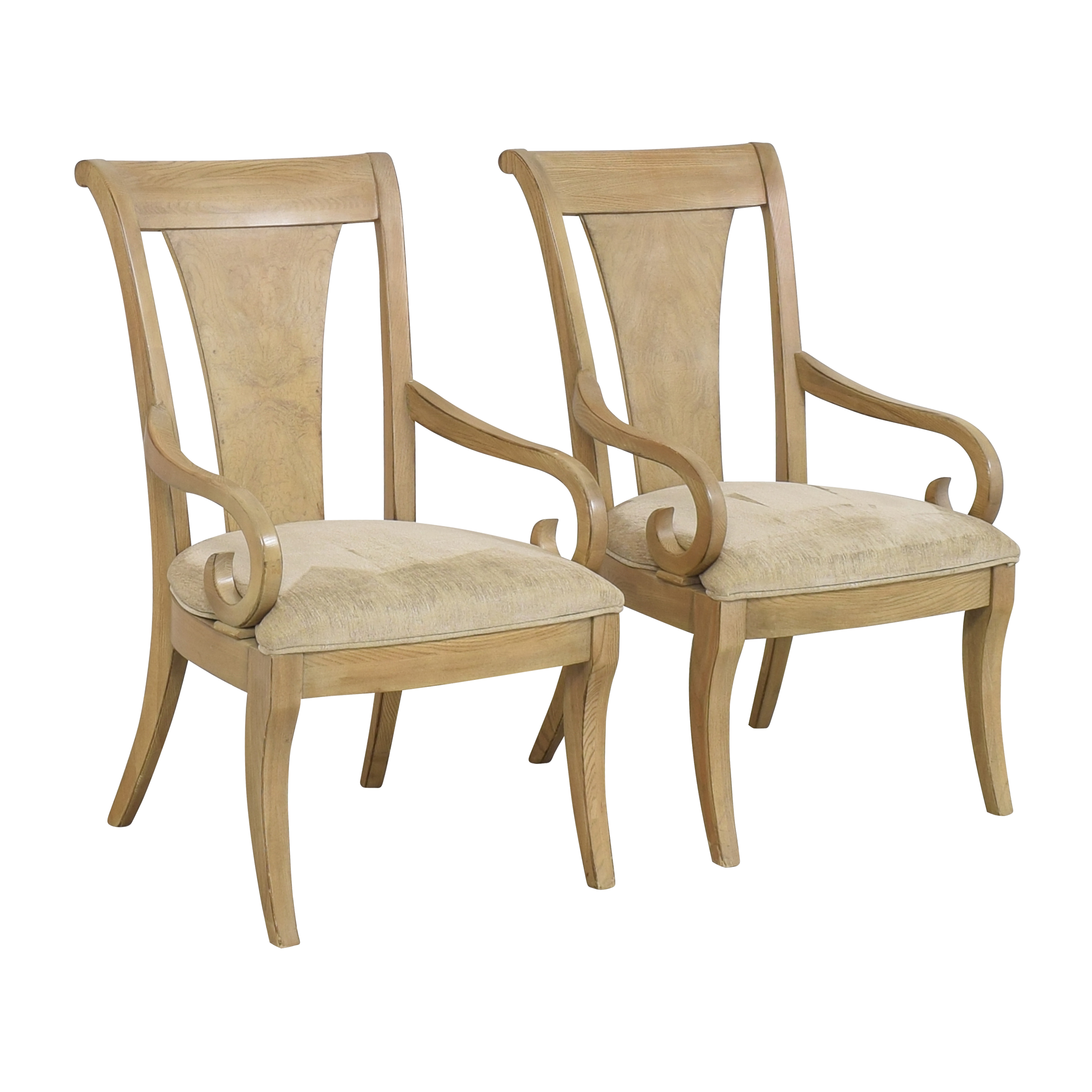 Drexel Heritage Drexel Heritage Dining Arm Chairs on sale