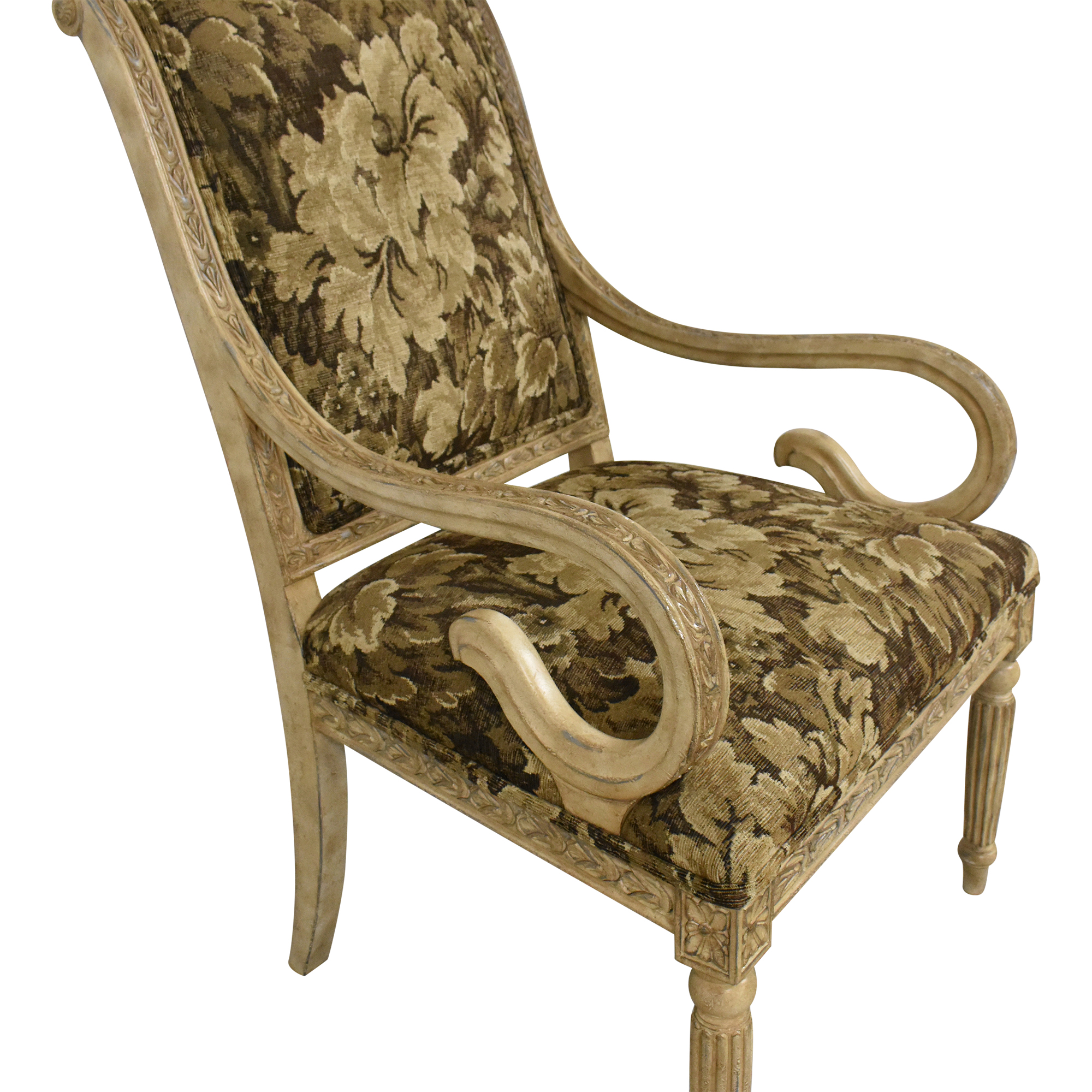 Calico Calico Decorative Accent Chair dimensions