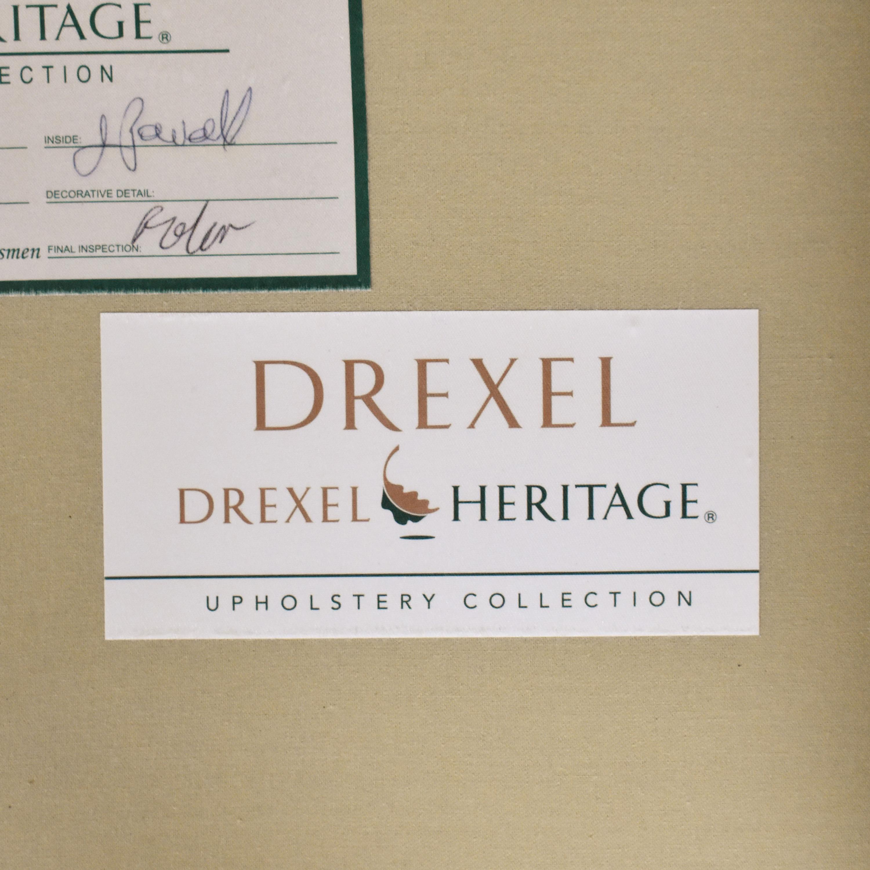 Drexel Heritage Drexel Heritage Upholstered Three Cushion Sofa dimensions