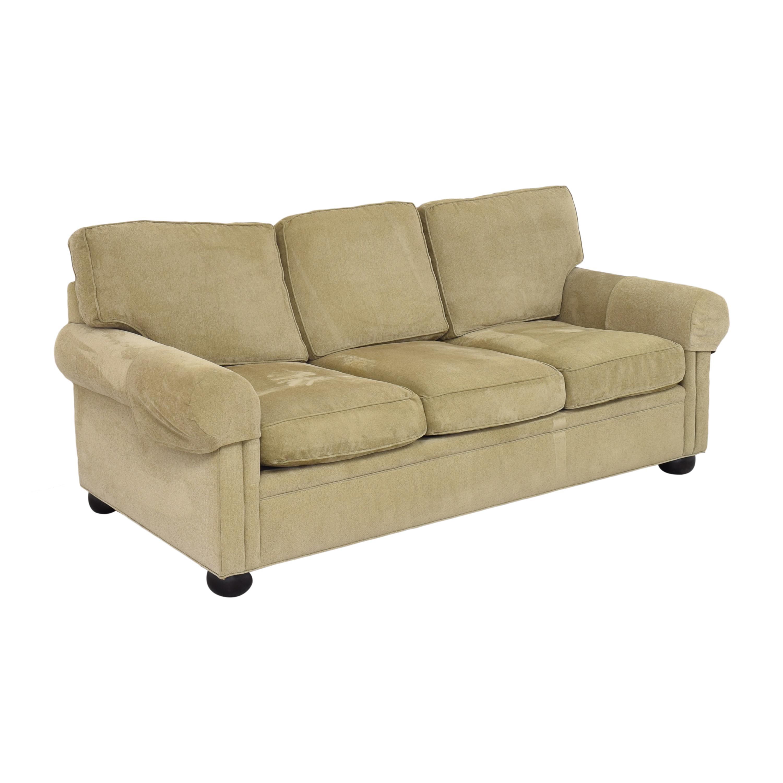 Drexel Heritage Drexel Heritage Upholstered Three Cushion Sofa Classic Sofas