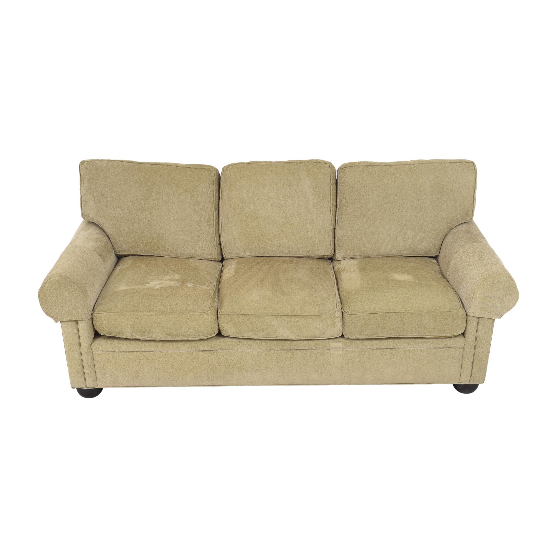 shop Drexel Heritage Drexel Heritage Upholstered Three Cushion Sofa online