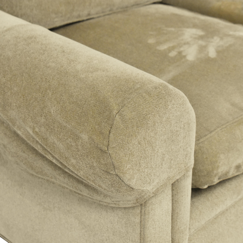 Drexel Heritage Drexel Heritage Upholstered Three Cushion Sofa second hand