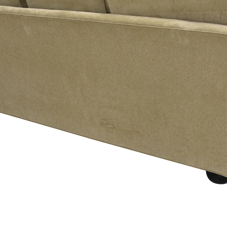Drexel Heritage Drexel Heritage Upholstered Three Cushion Sofa nyc