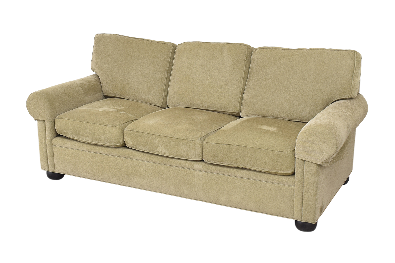 shop Drexel Heritage Upholstered Three Cushion Sofa Drexel Heritage Sofas
