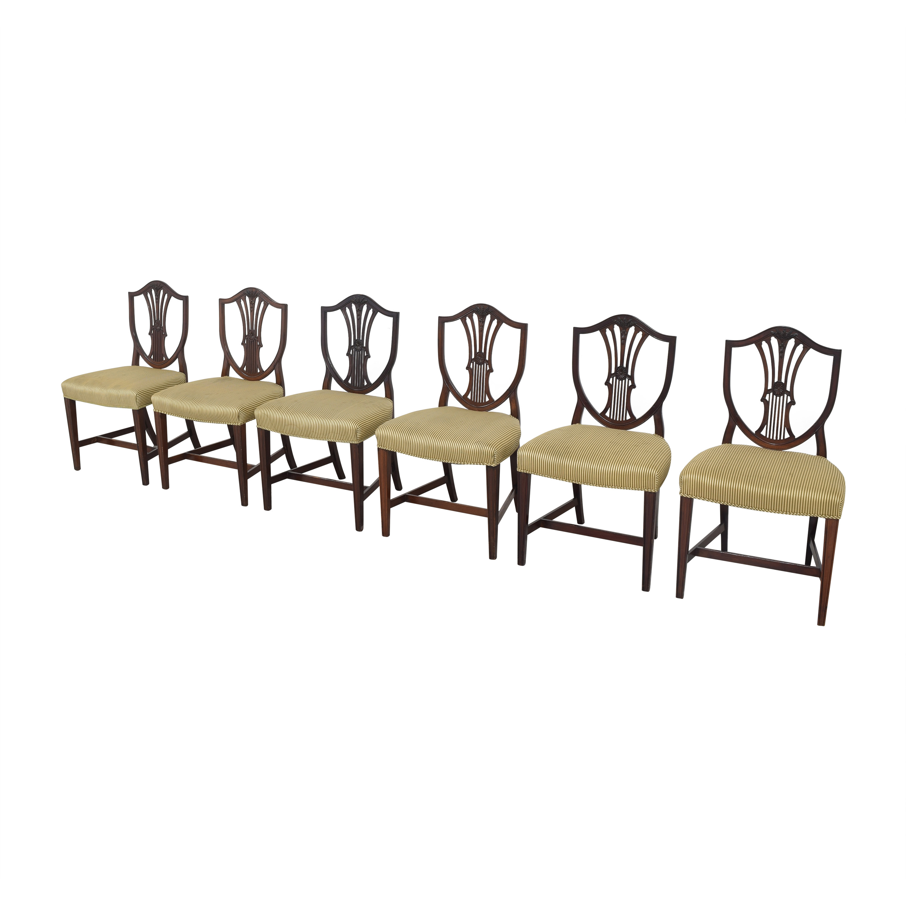 Shield Back Dining Side Chairs nyc