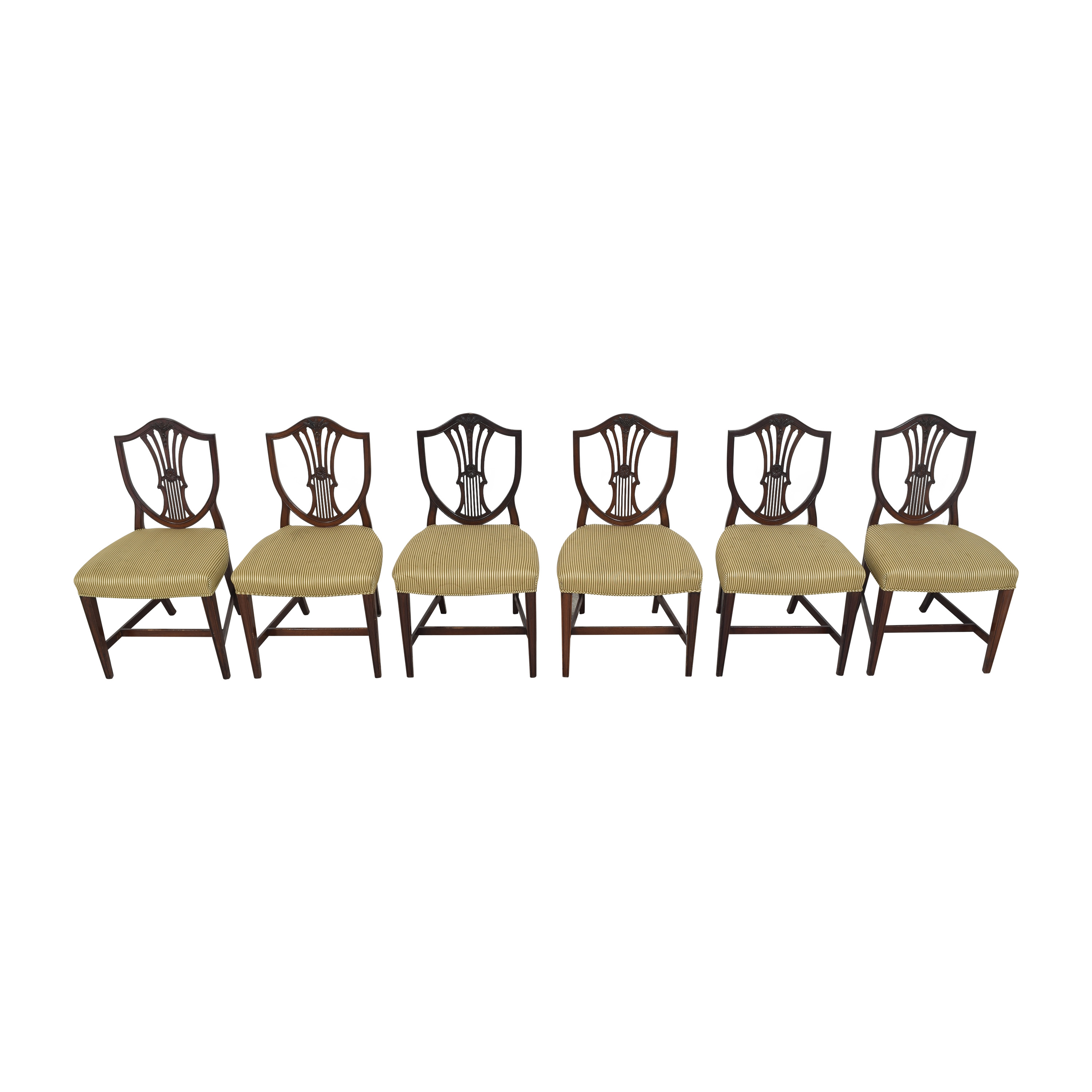 Shield Back Dining Side Chairs / Dining Chairs