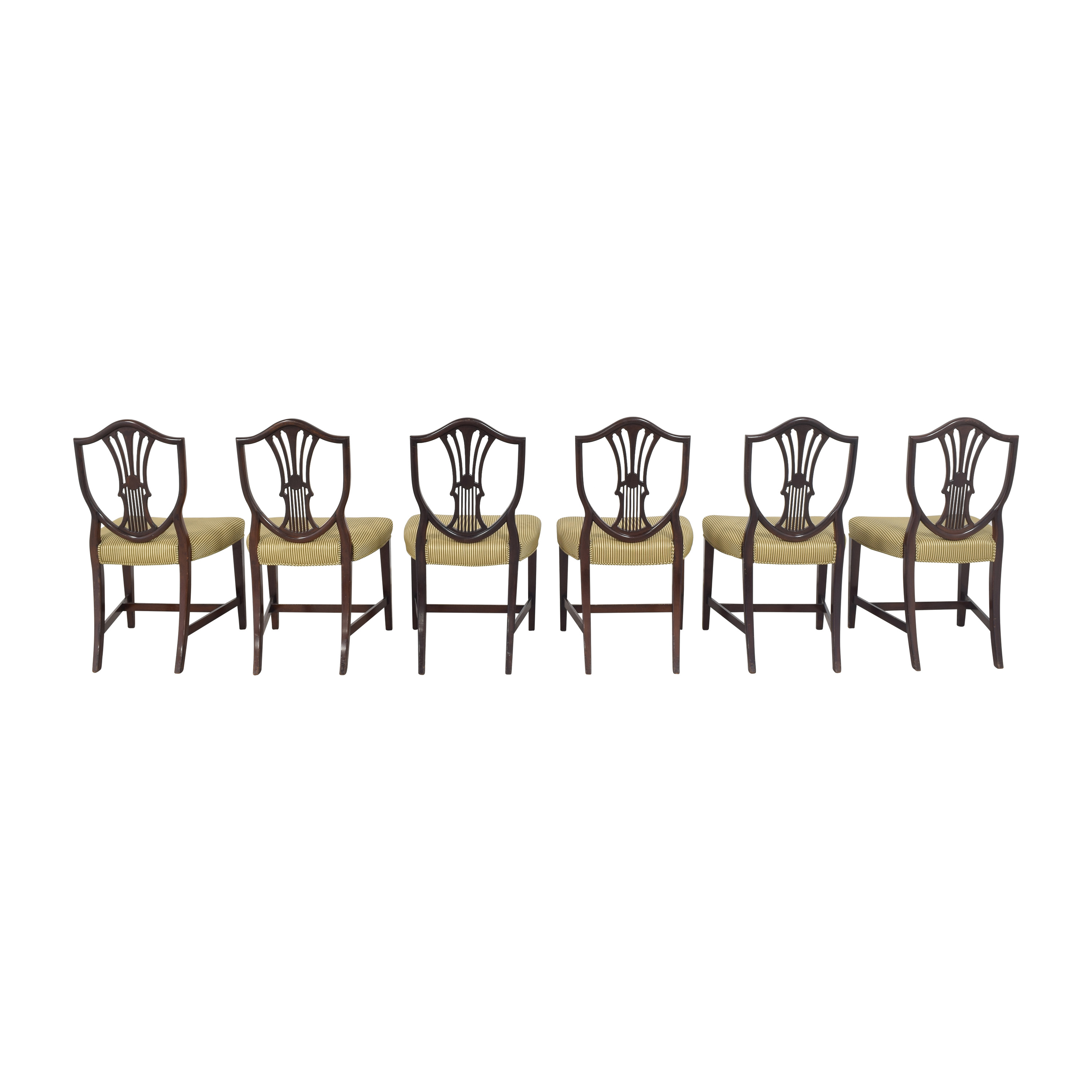shop Shield Back Dining Side Chairs  Dining Chairs
