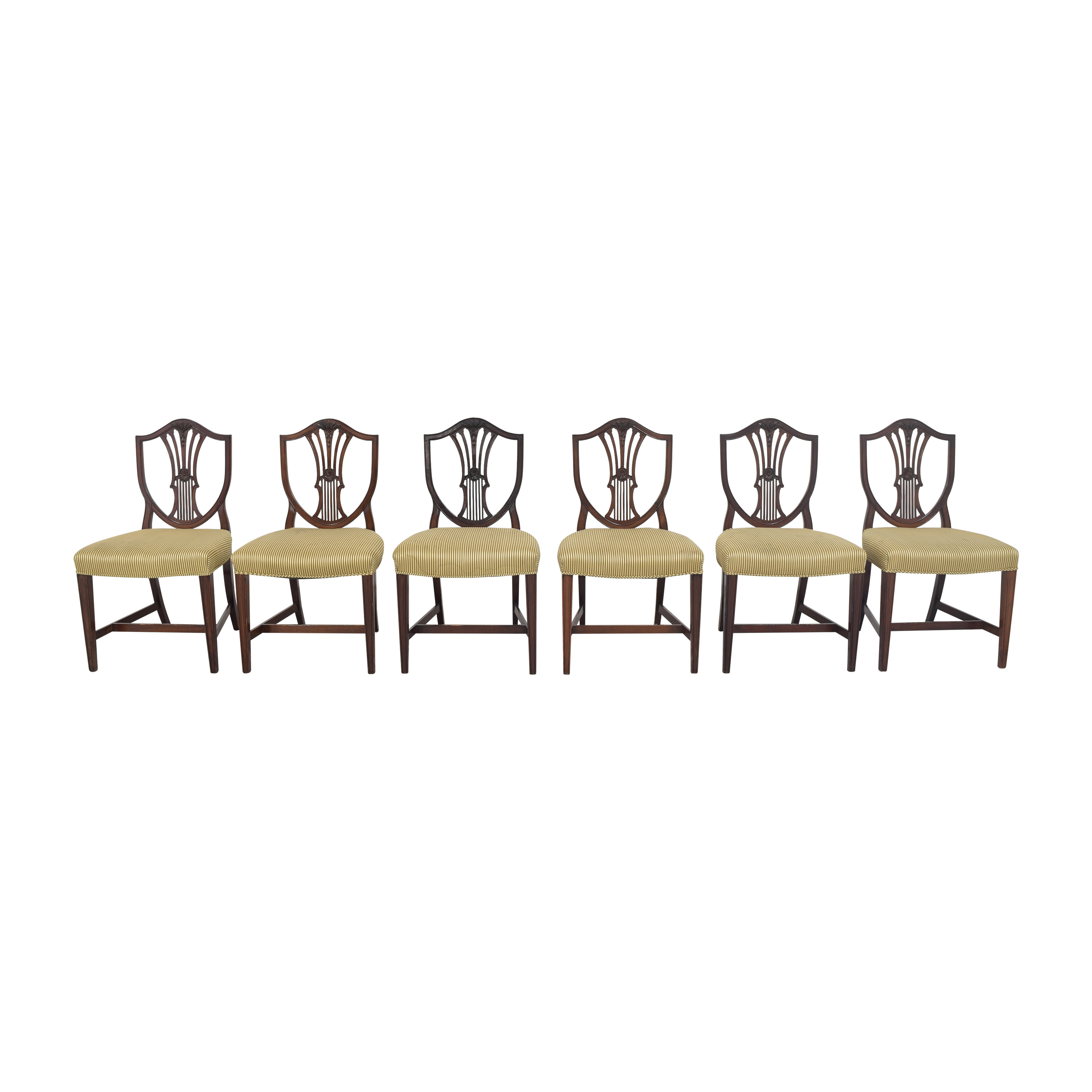 Shield Back Dining Side Chairs Chairs
