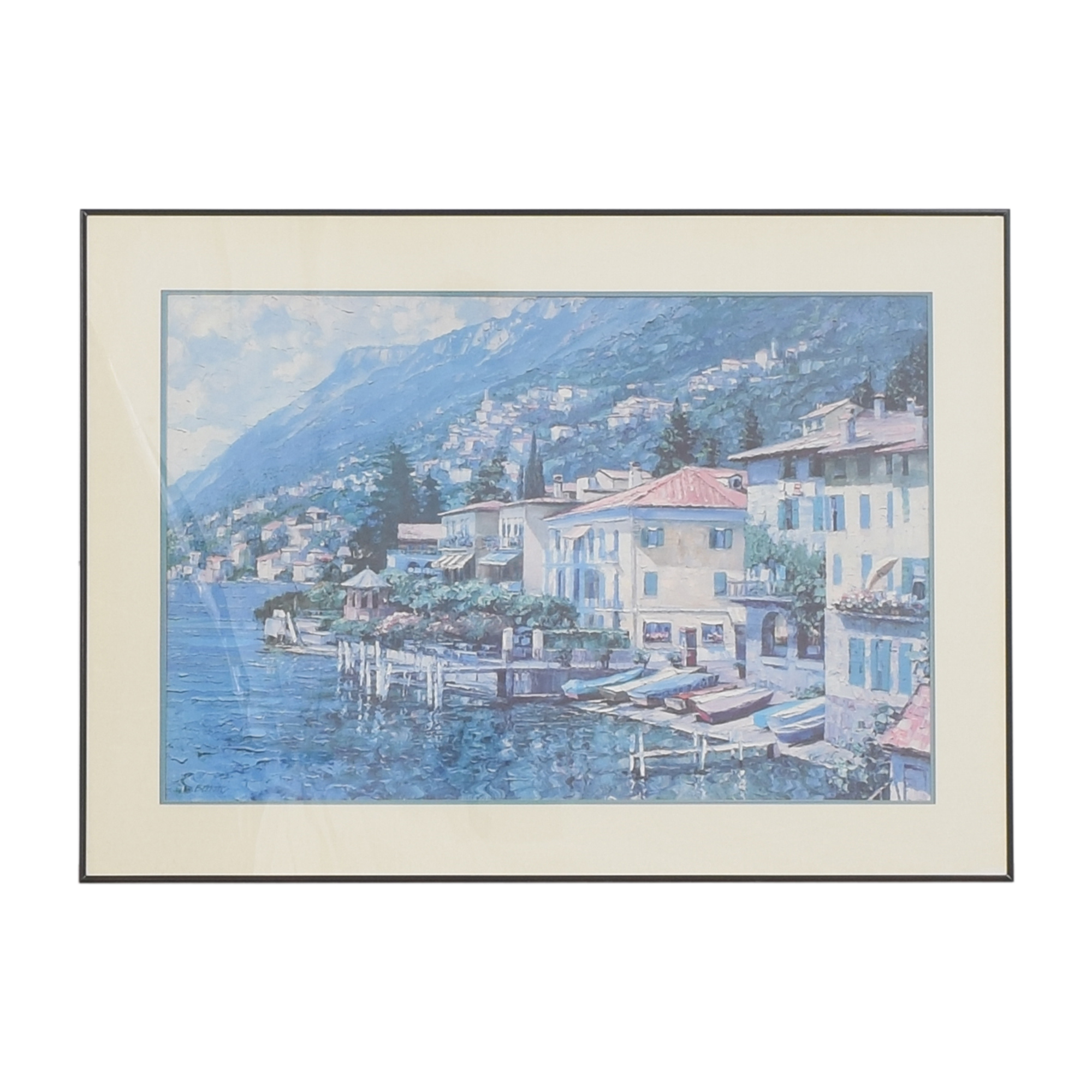 shop Lugano, Italy 1991 Wall Art