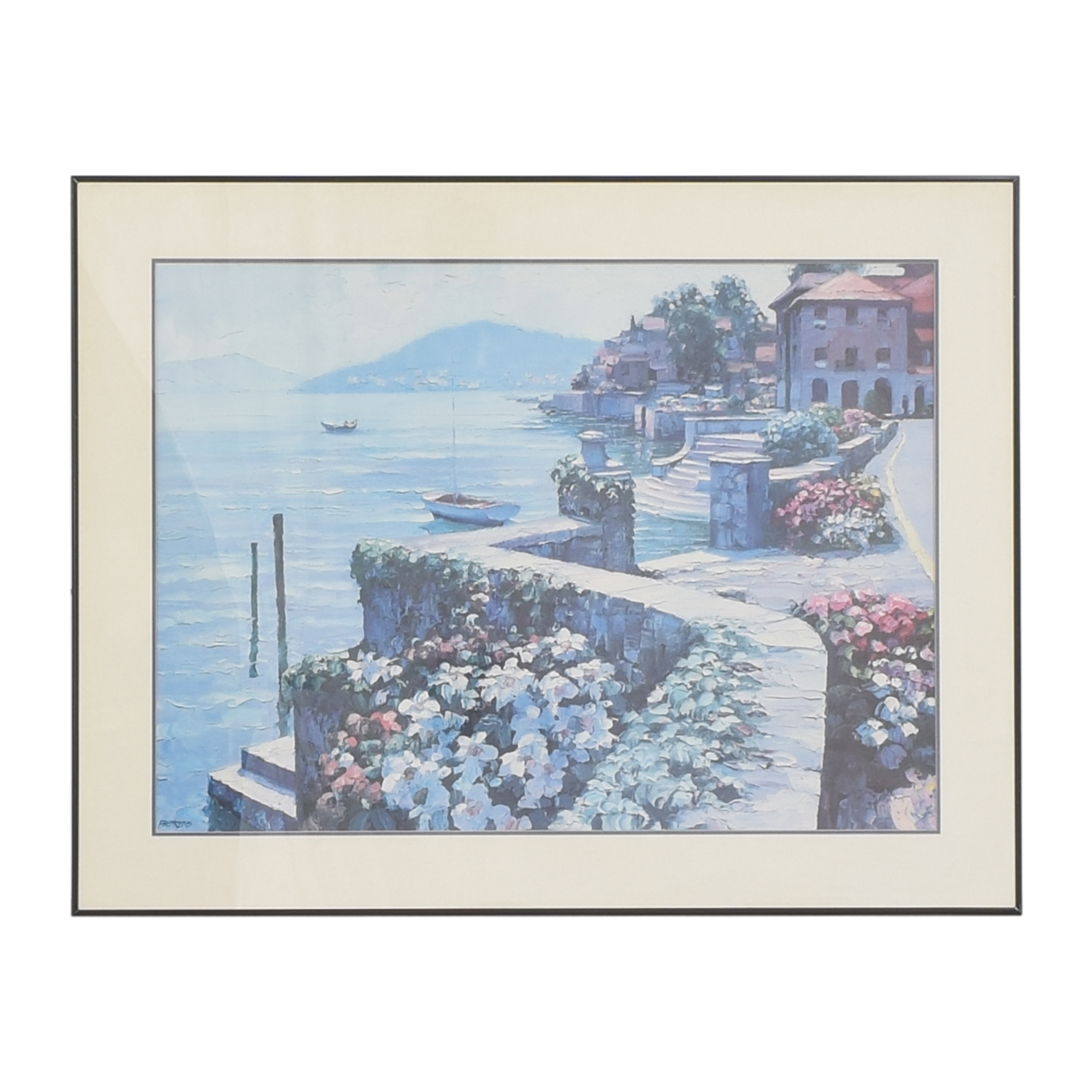buy Il Lago di Como Framed Wall Art  Wall Art