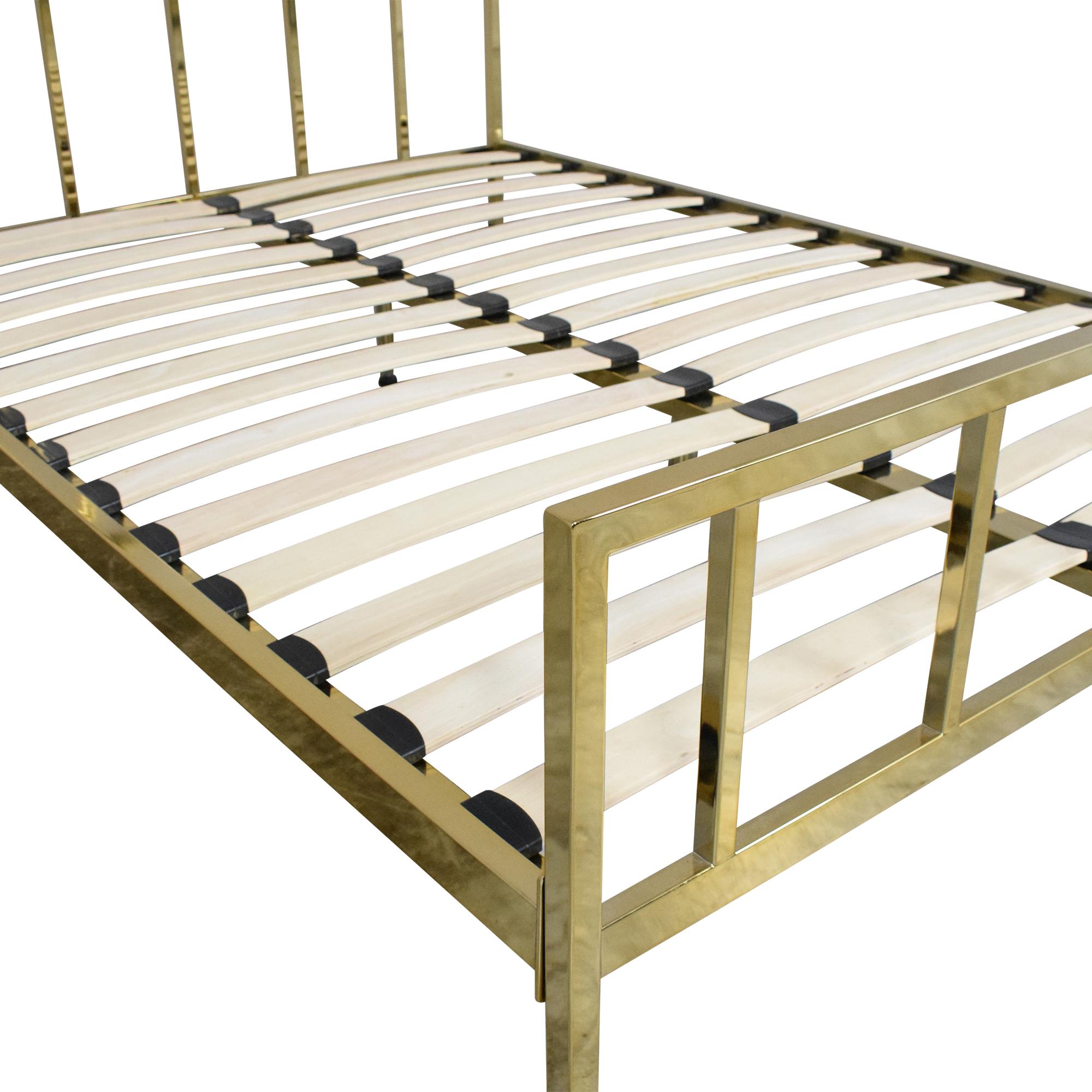 buy CB2 Alchemy Full Bed CB2 Bed Frames