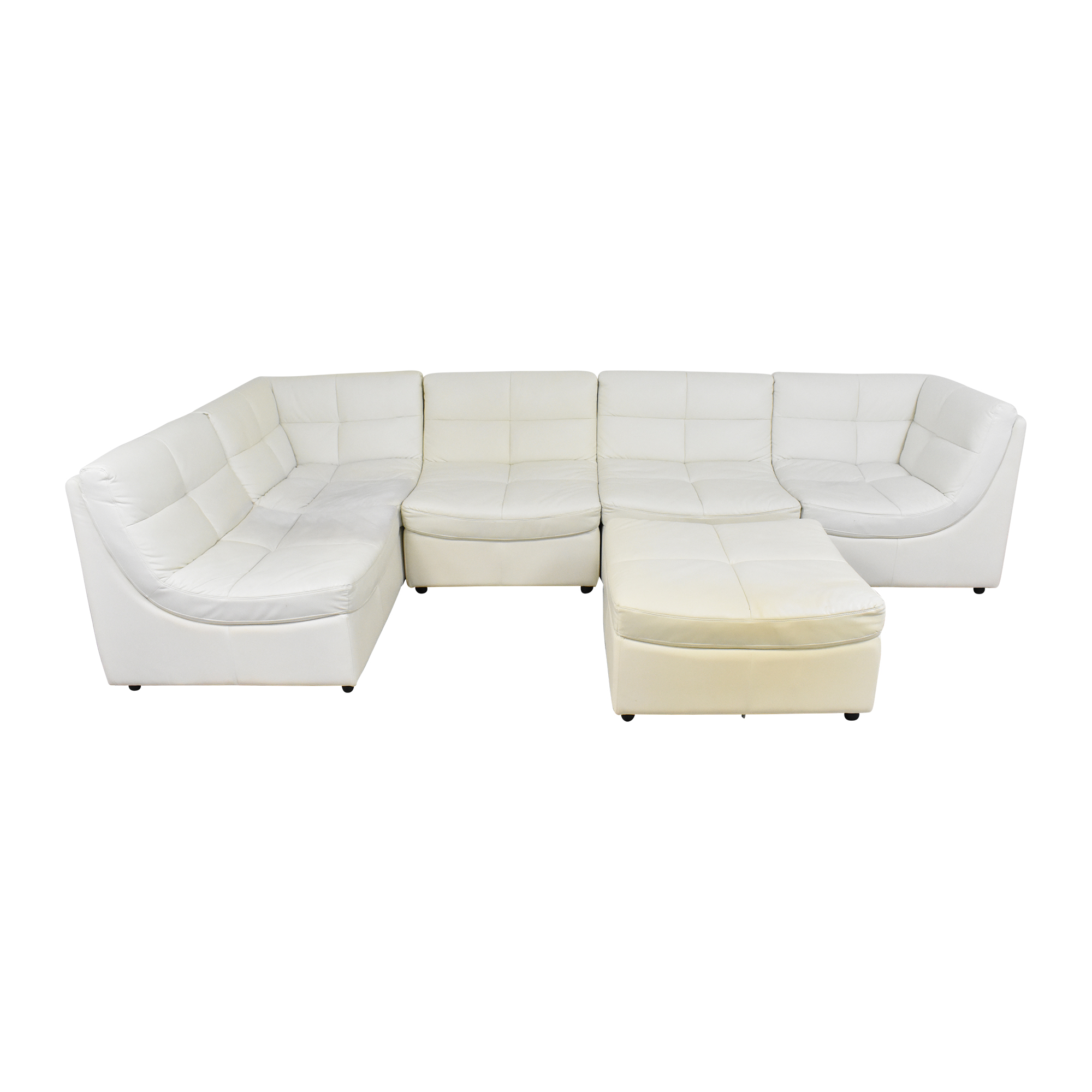 shop Corner Modular Sofa with Ottoman  Sectionals