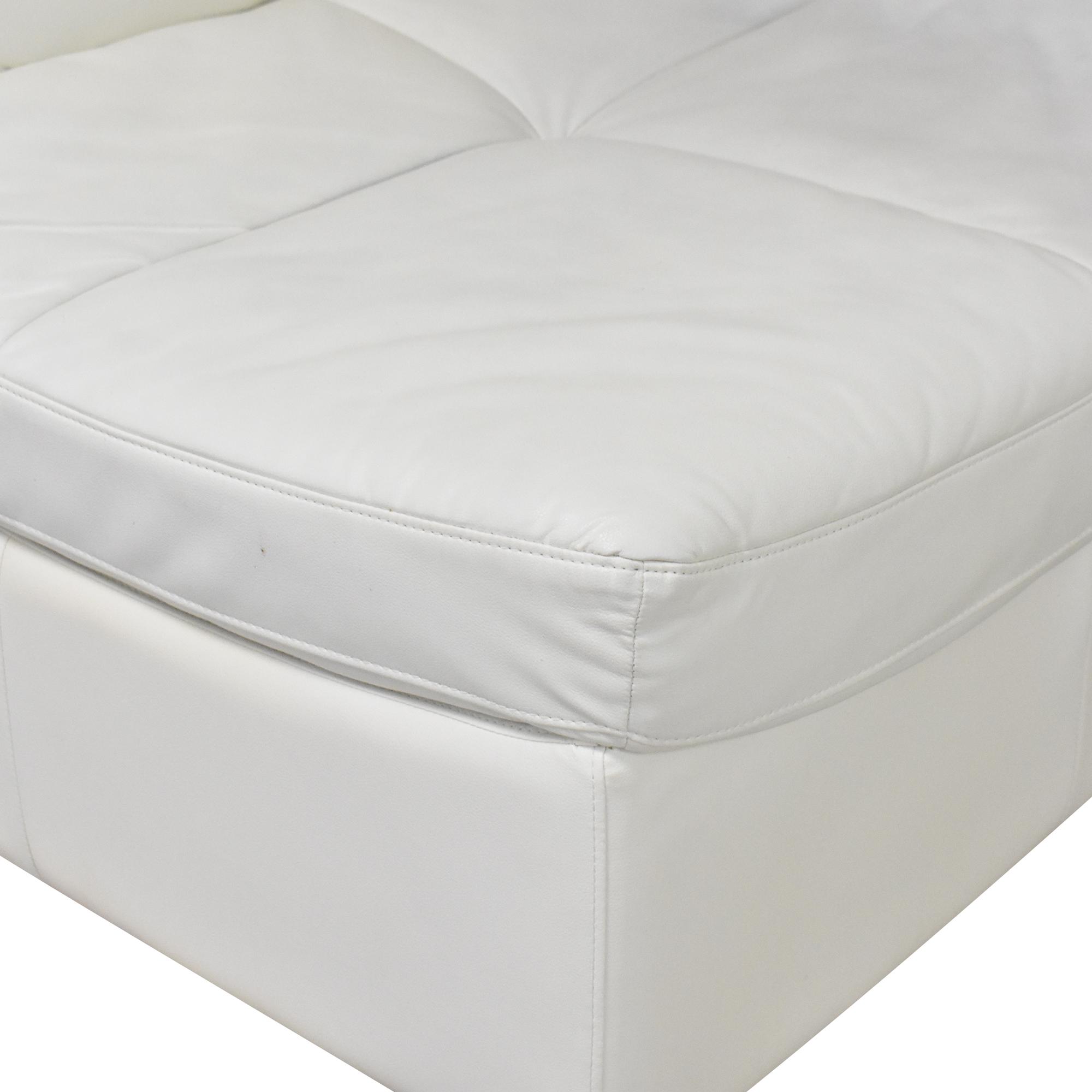 buy Corner Modular Sofa with Ottoman  Sofas