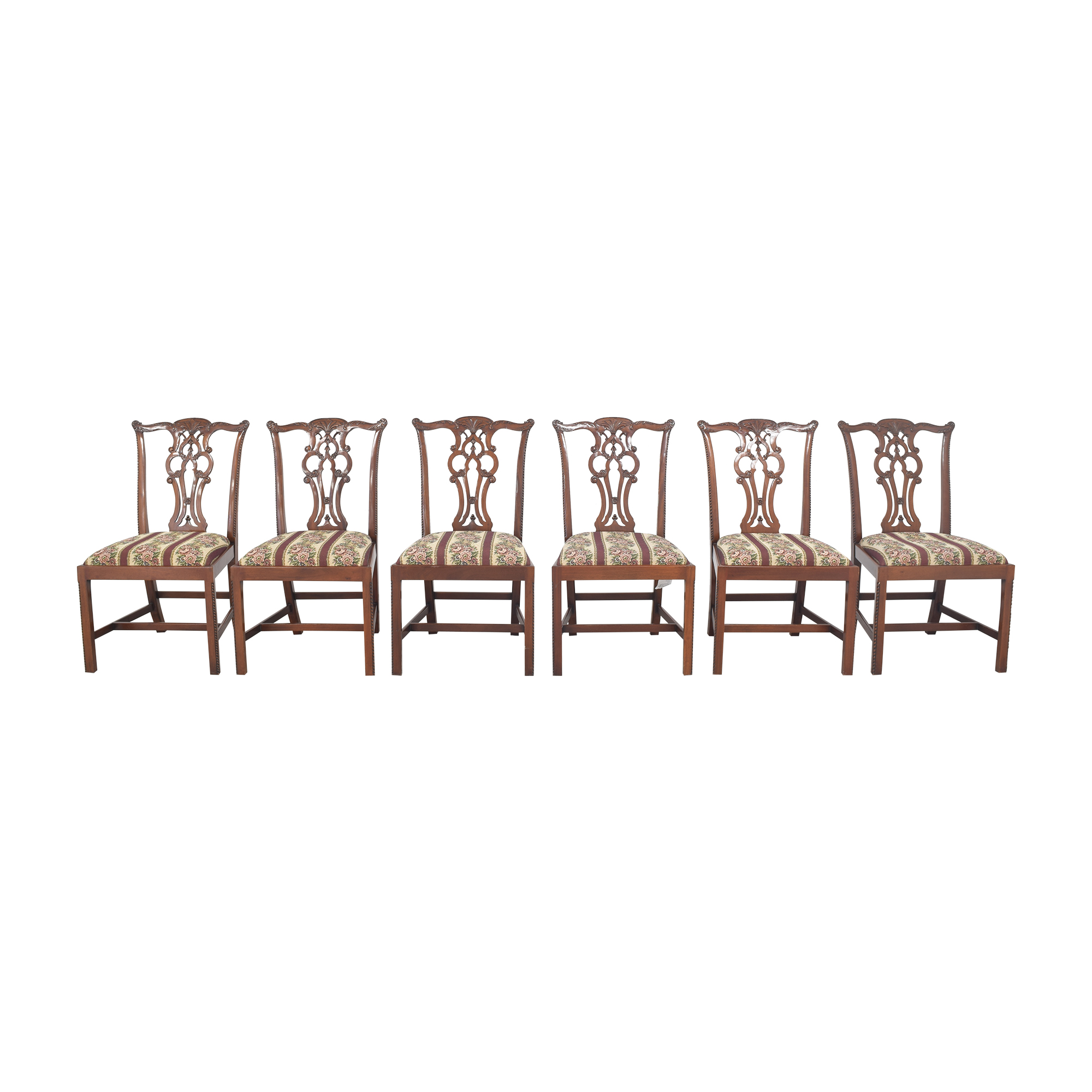 buy Maitland-Smith Maitland-Smith Chippendale Upholstered Dining Chairs online