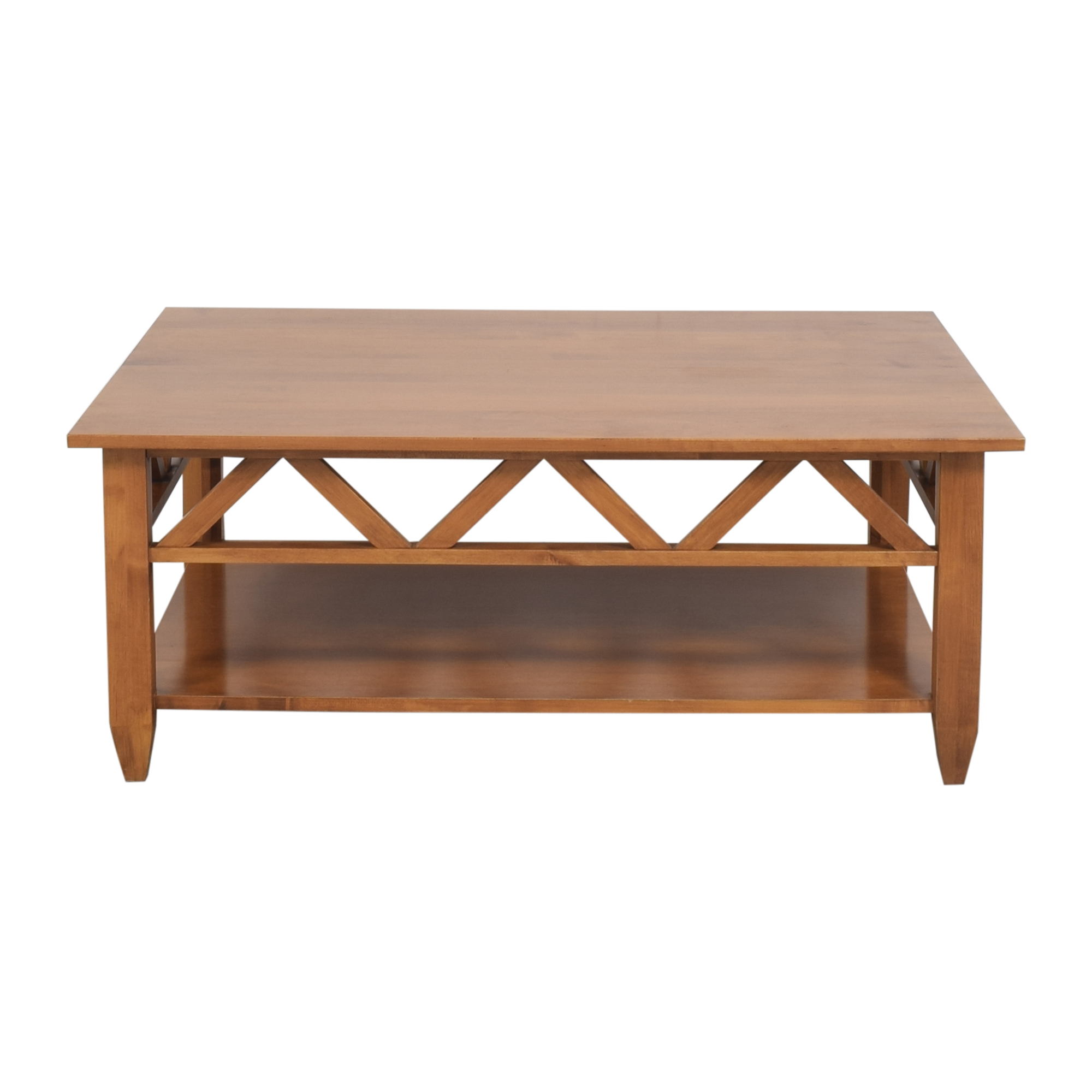shop Ethan Allen Rectangular Coffee Table Ethan Allen