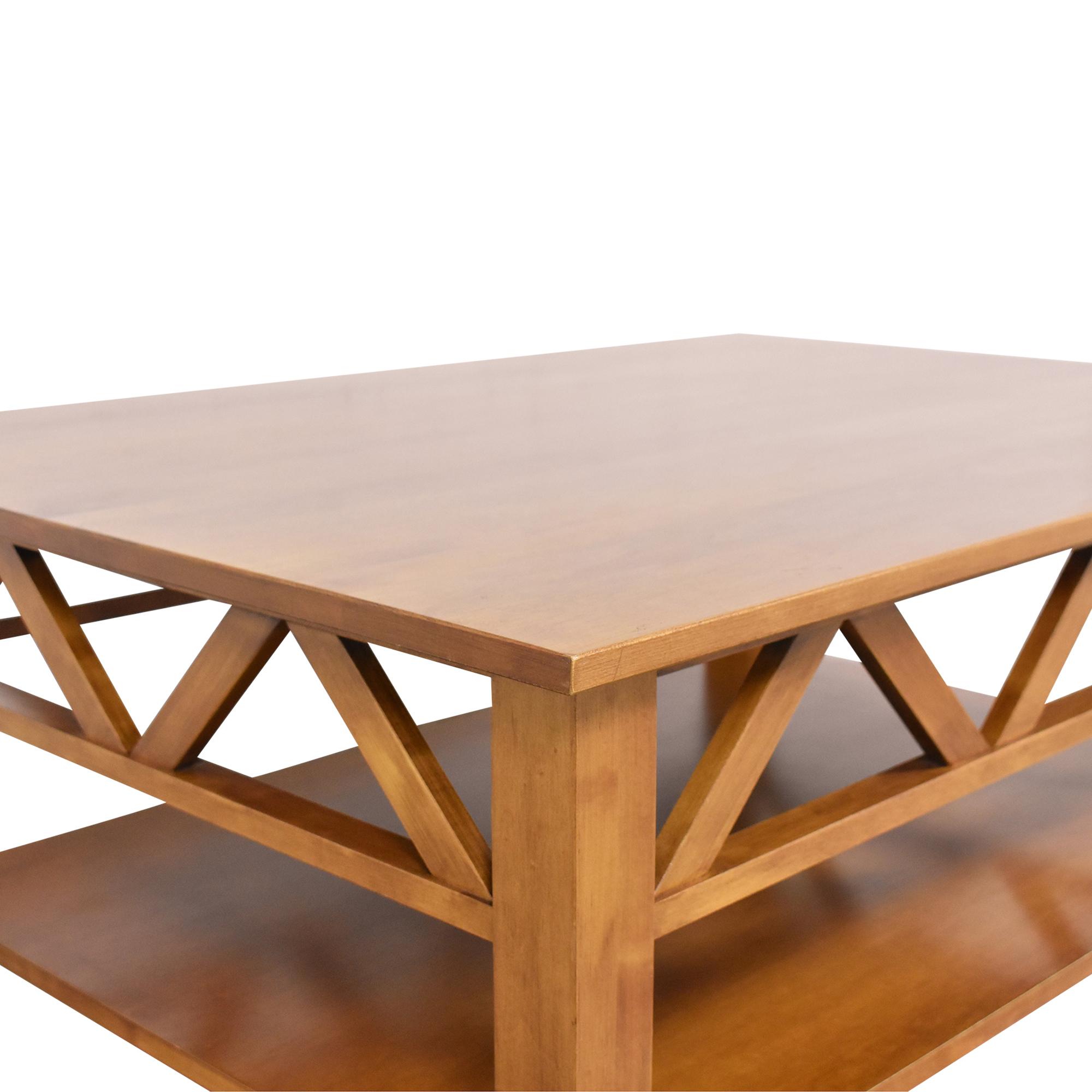 Ethan Allen Rectangular Coffee Table sale