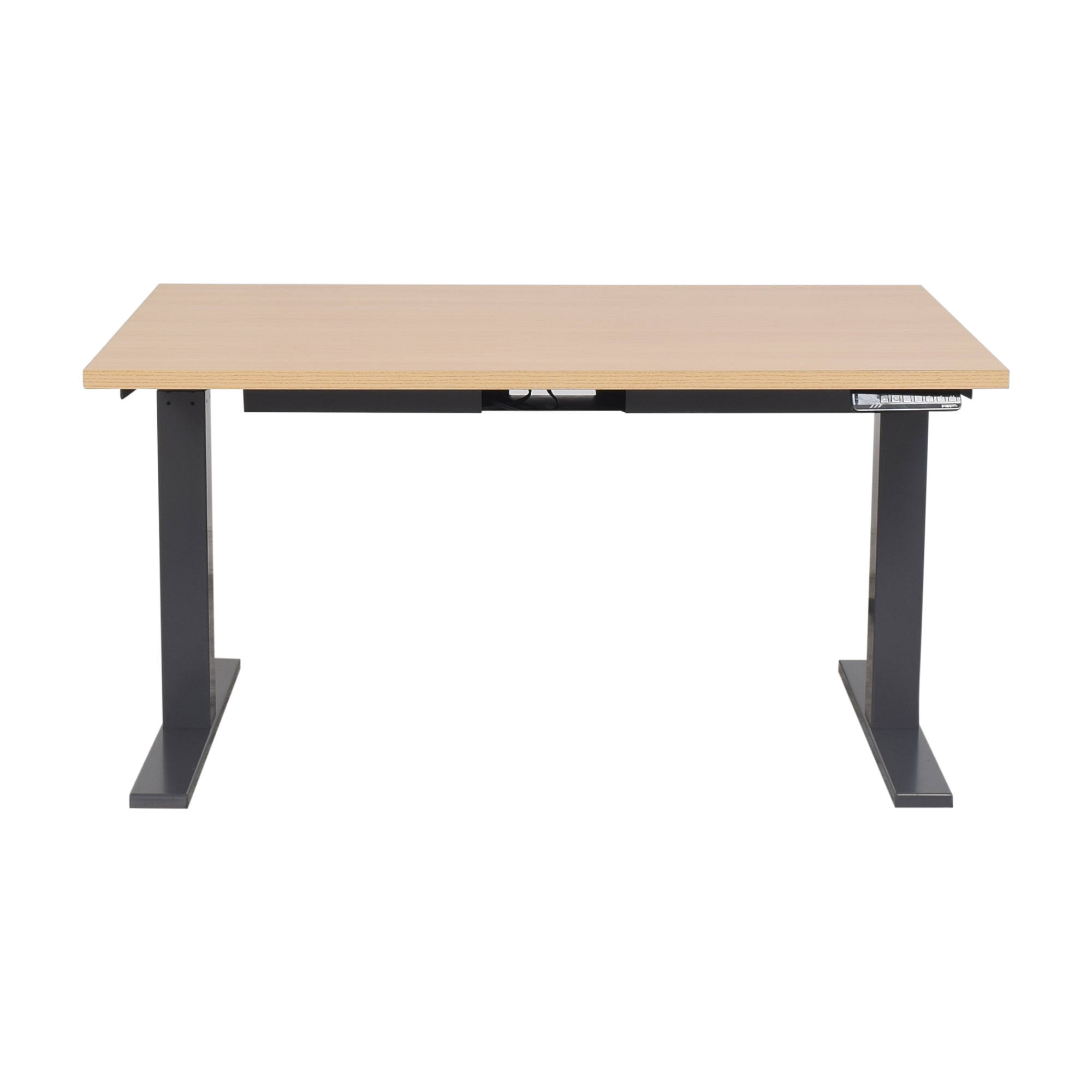 Poppin Poppin Series L Adjustable Height Desk ma